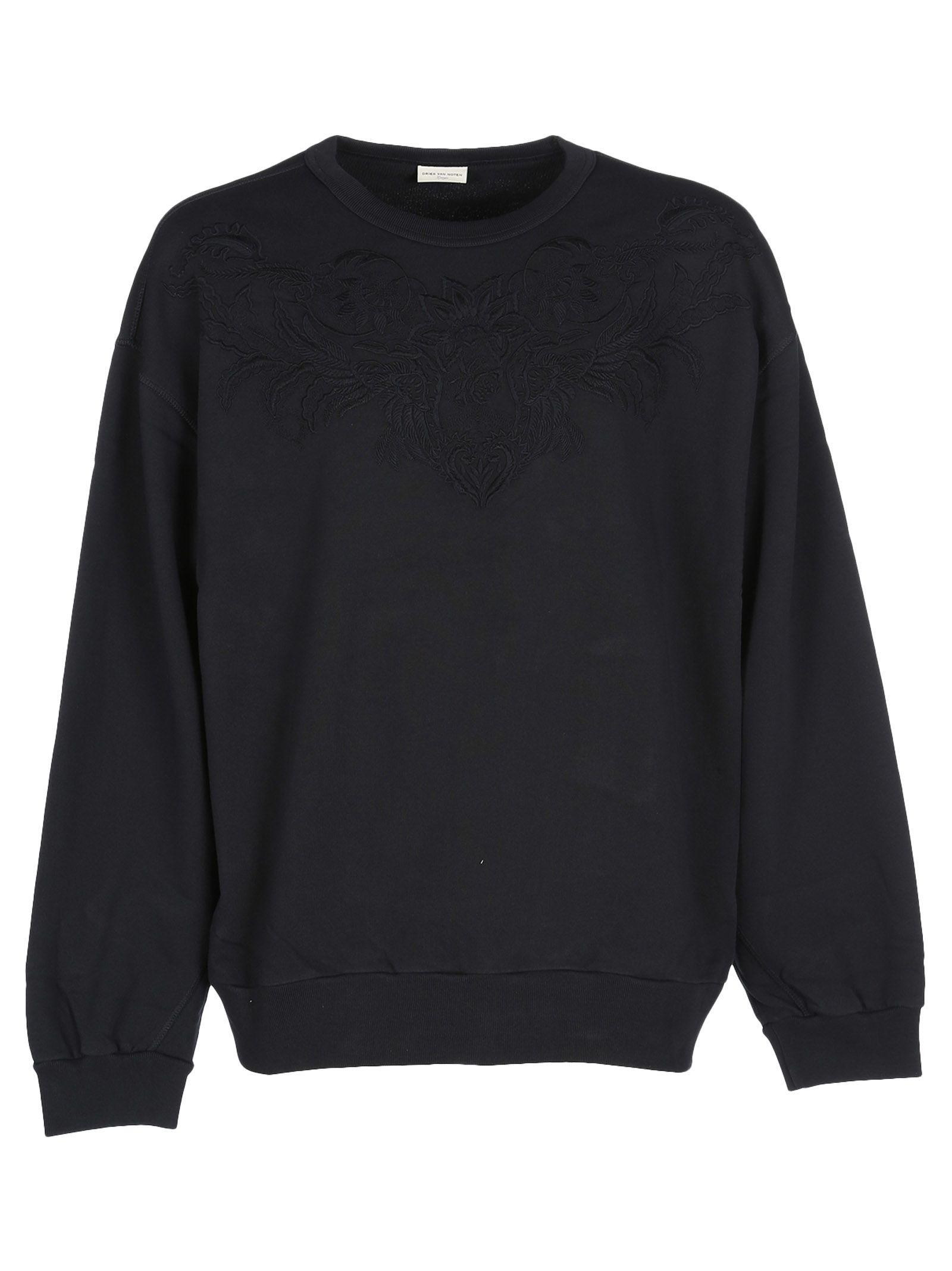 Dries Van Noten Embroidered Oversized Sweatshirt