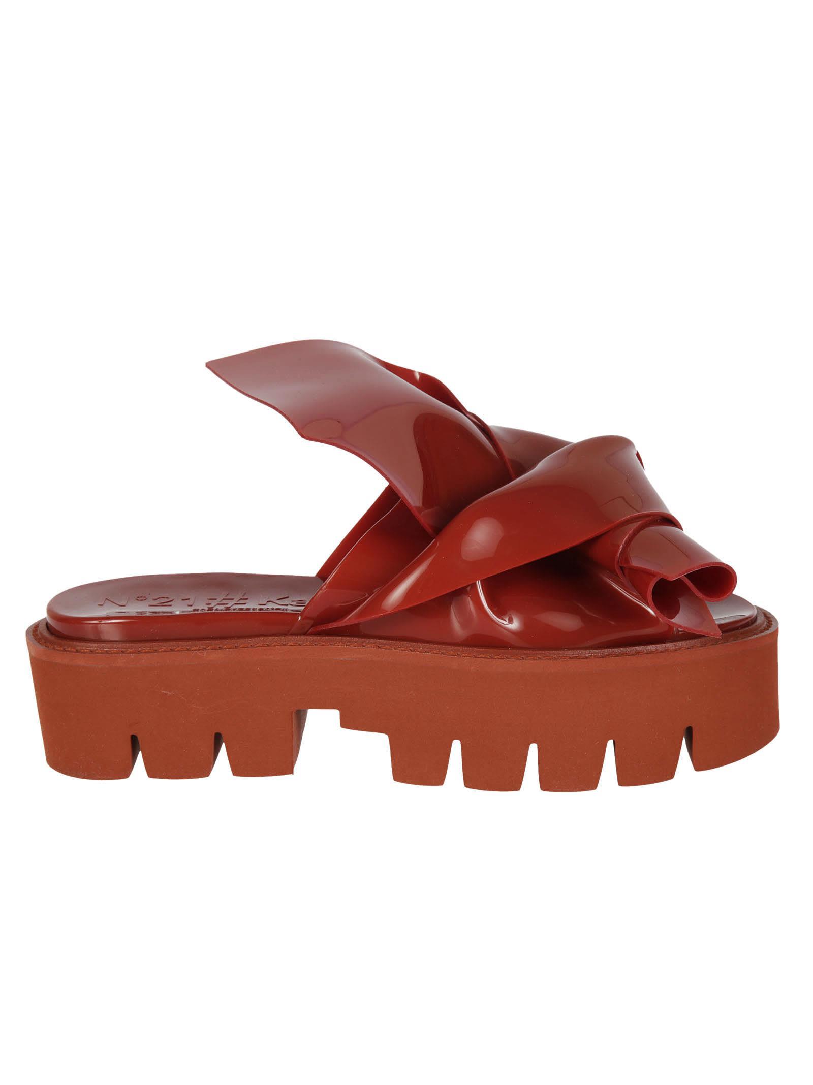N 21 Knot Slider Sandals