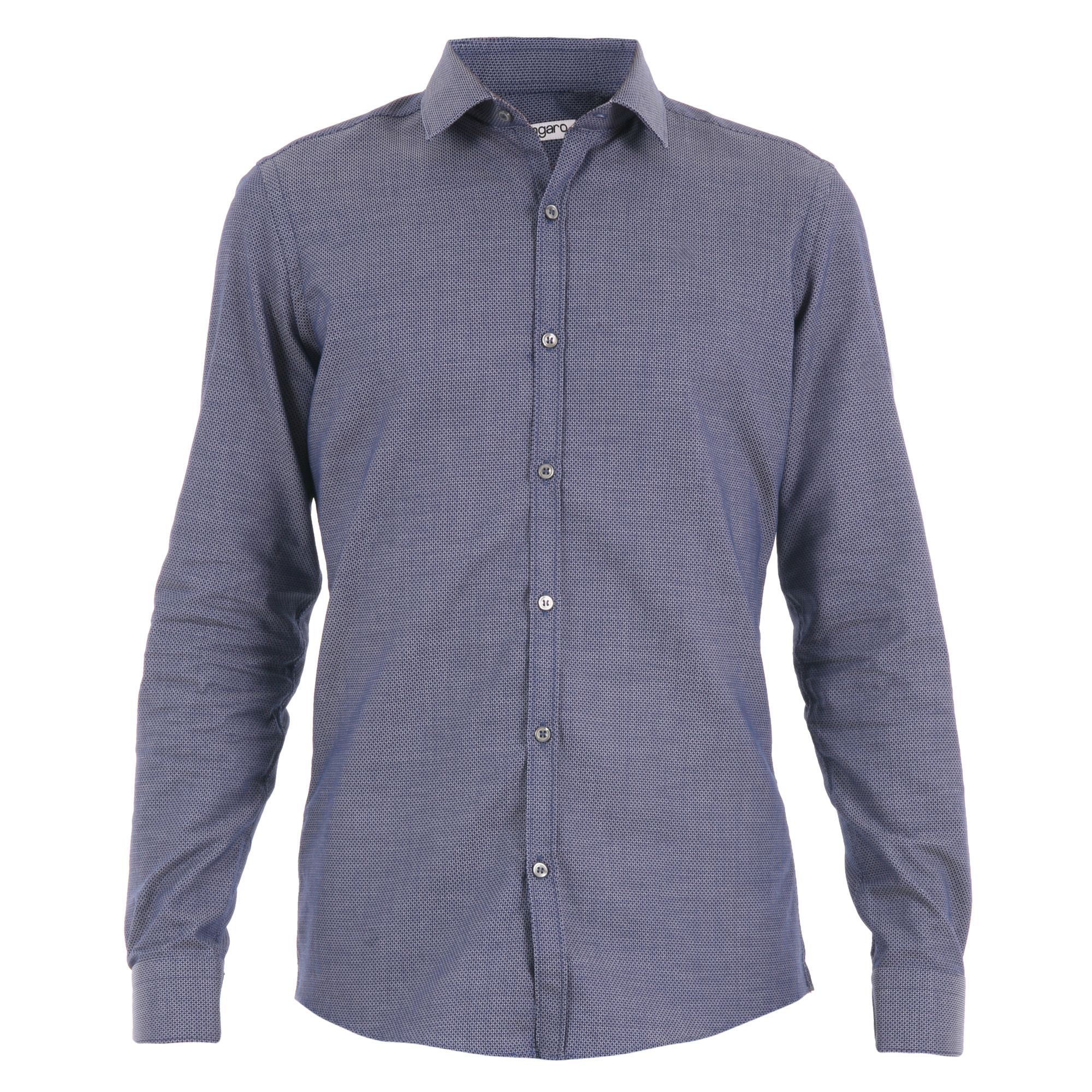 Emanuel Ungaro Slim Fit Cotton Jacquard Shirt
