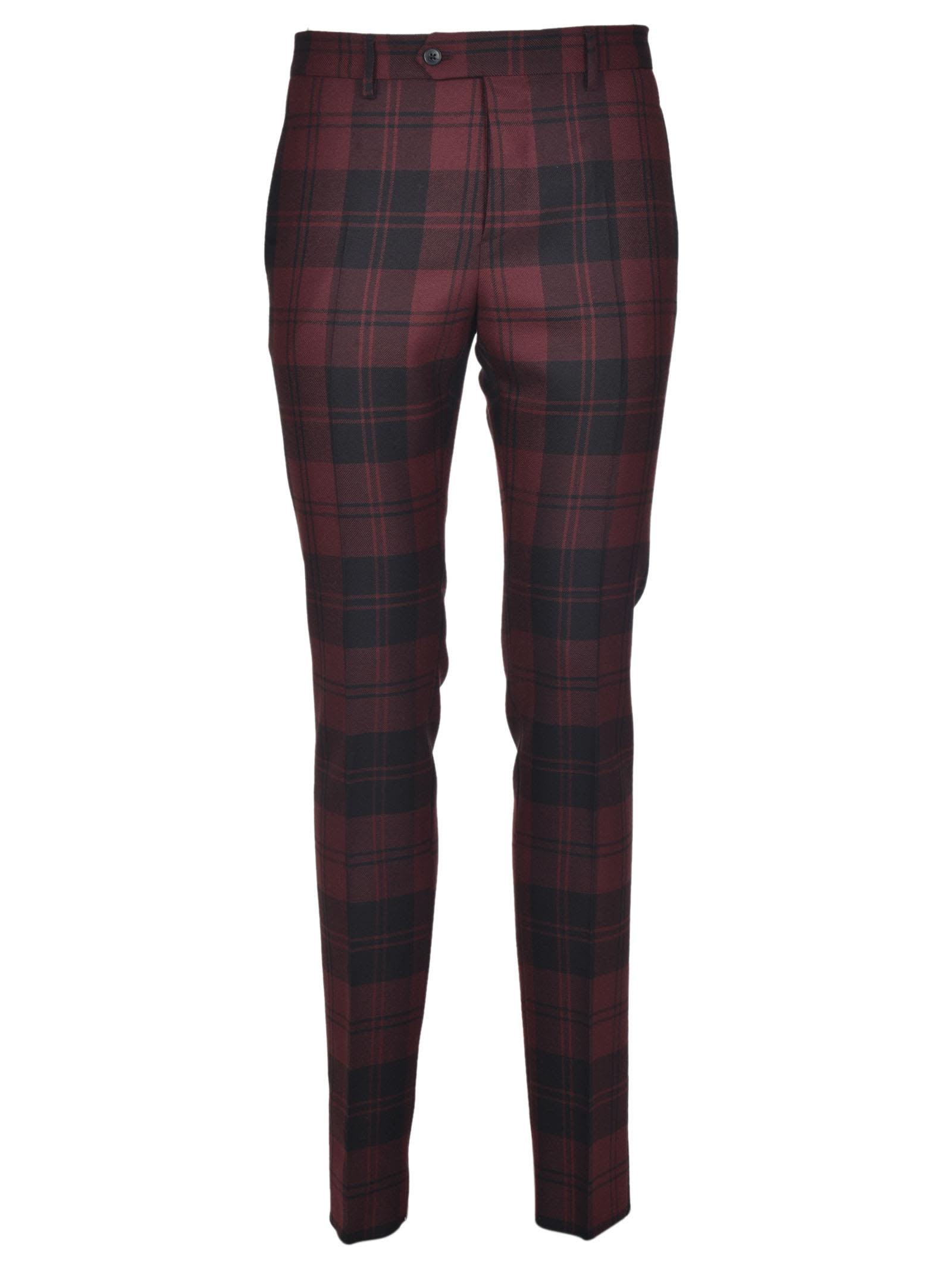 Valentino Checked Trousers