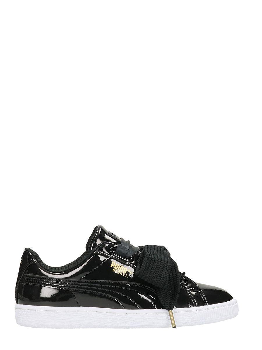 Puma Basket Heart Patent Wm Sneakers