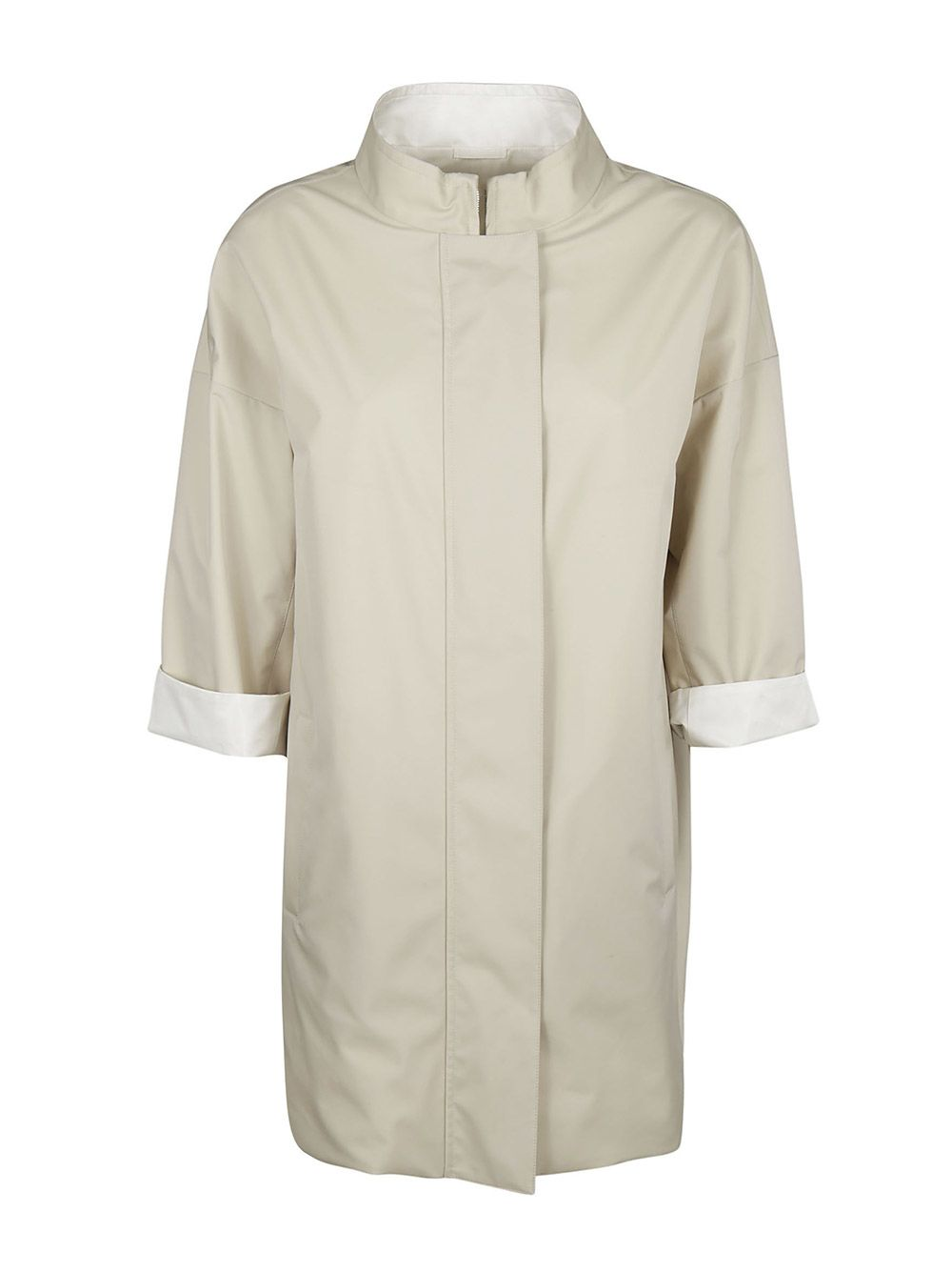 Standing Collar Raincoat
