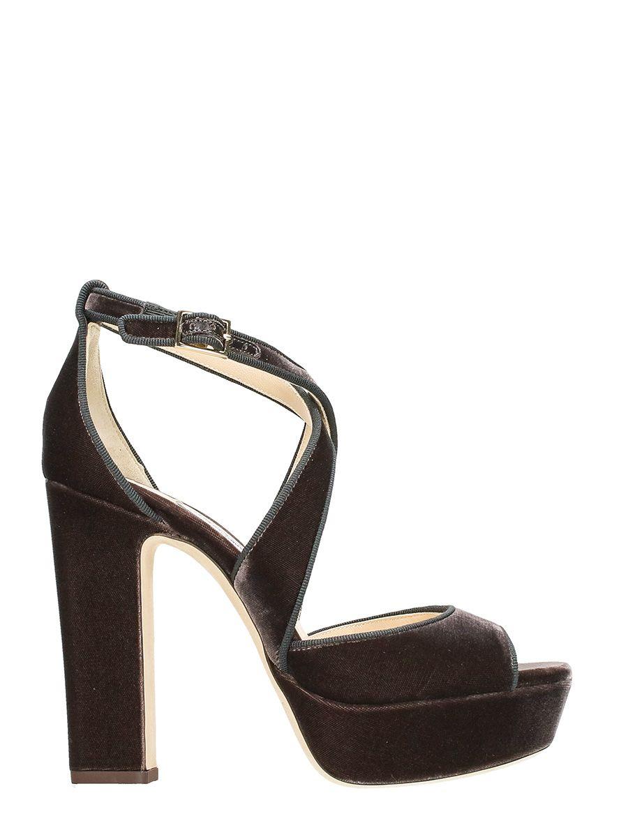 Jimmy Choo April 120 Platform Sandals