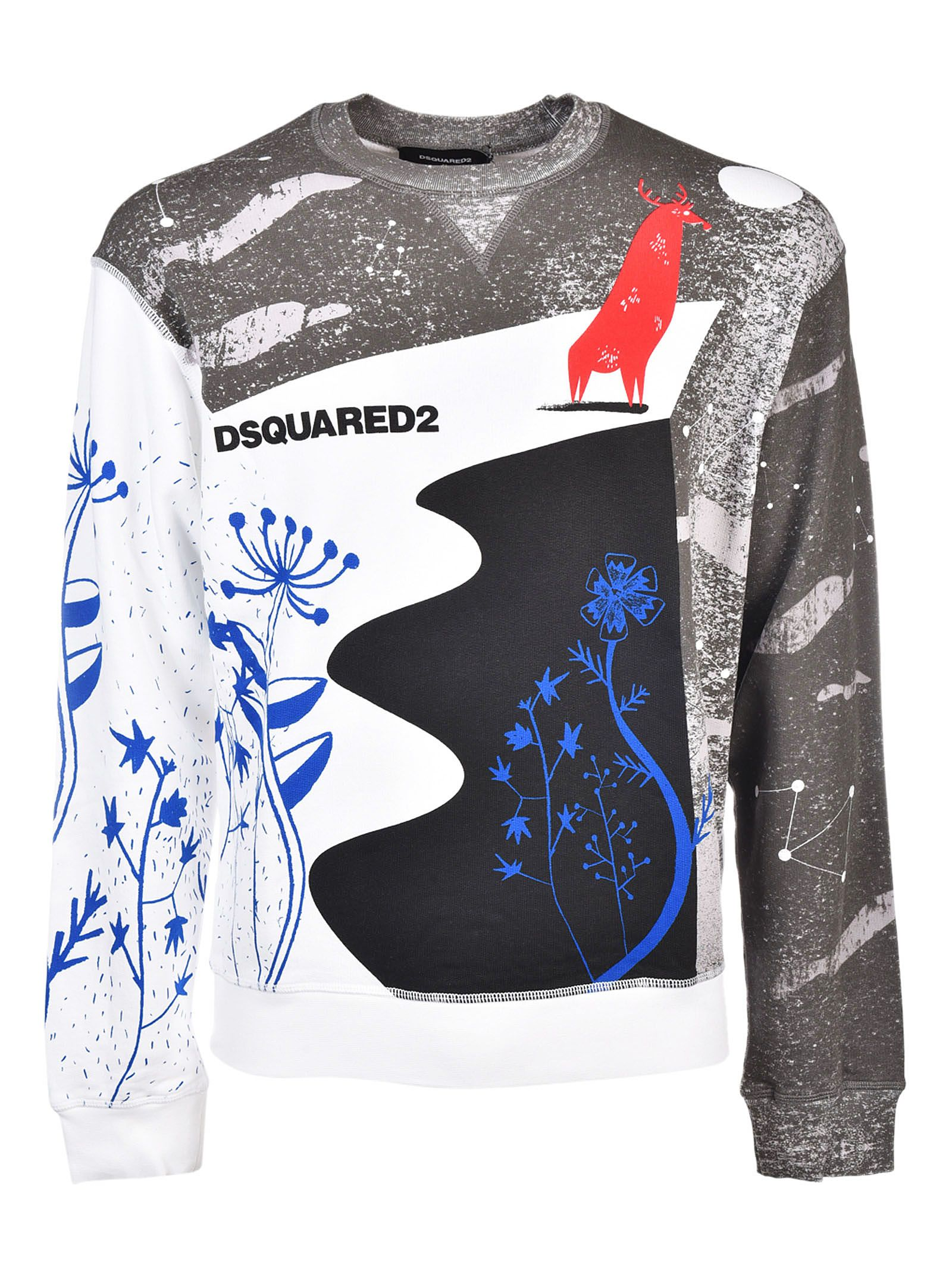 Dsquared2 Abstract Sweatshirt