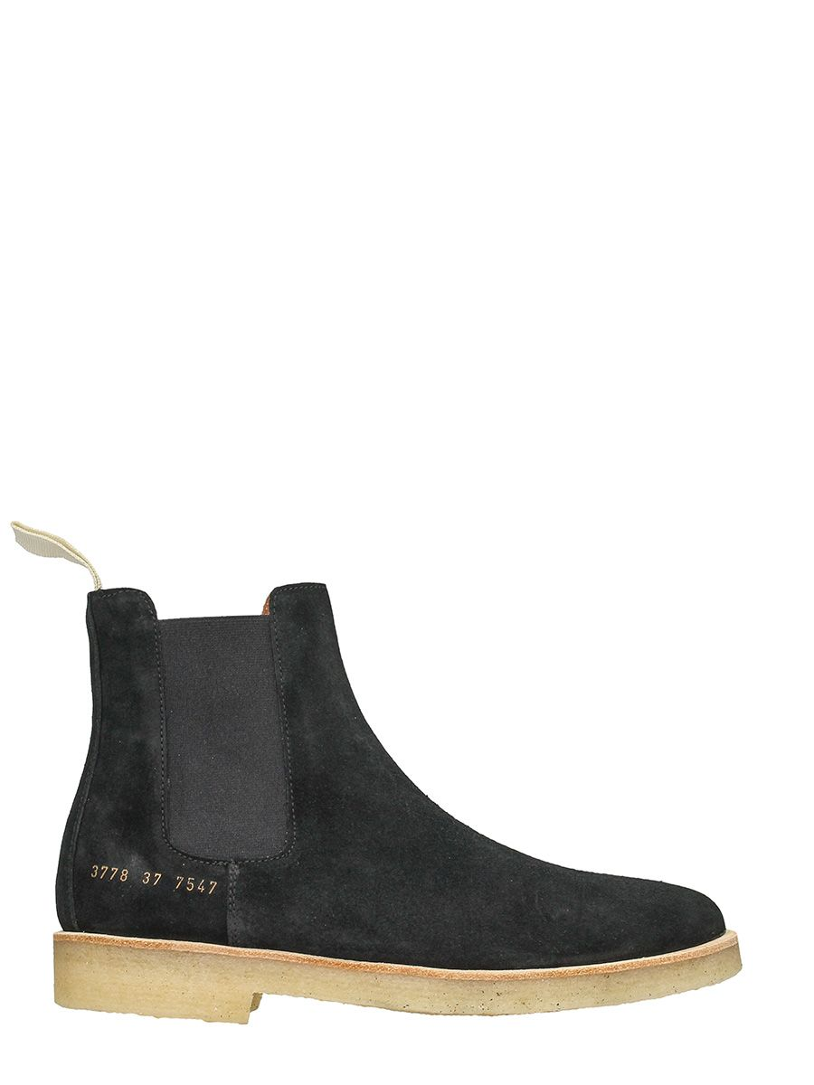 Common Projects Common Projects Chelsea Boots Black