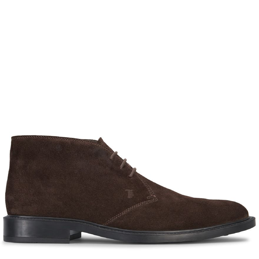 Short Ankle Boot In Suede