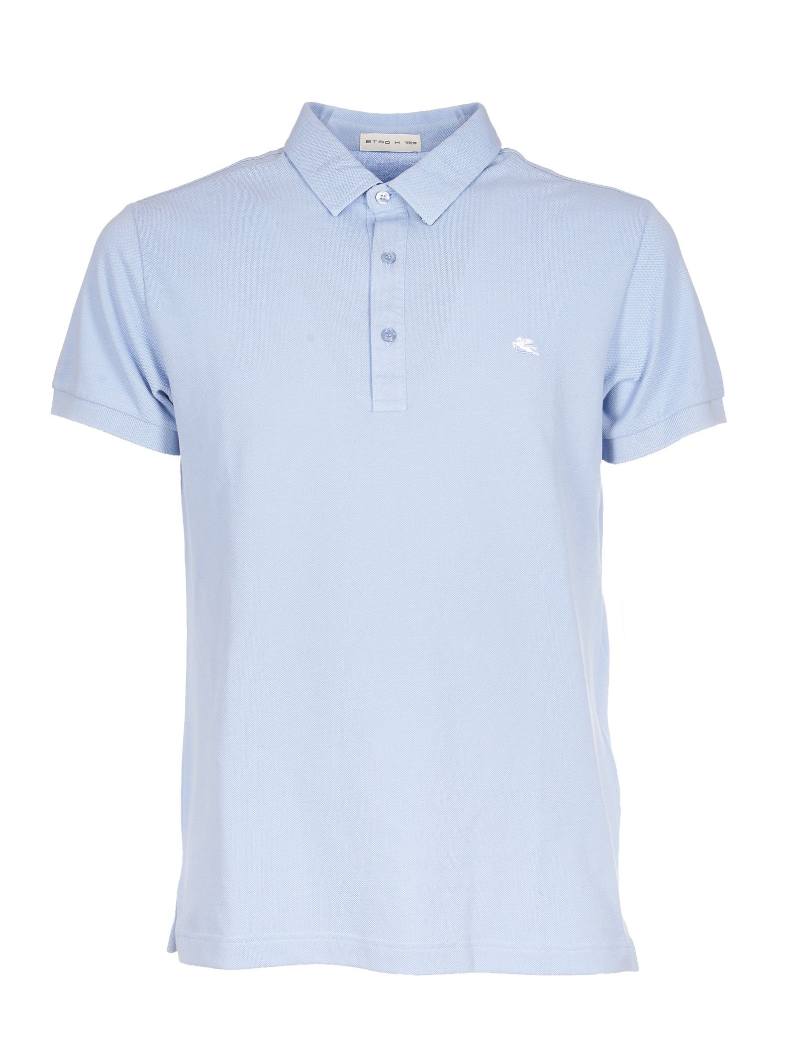Etro Embroidered Polo Shirt