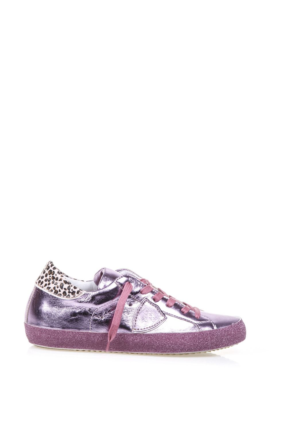 Philippe Model Metallic Sneakers