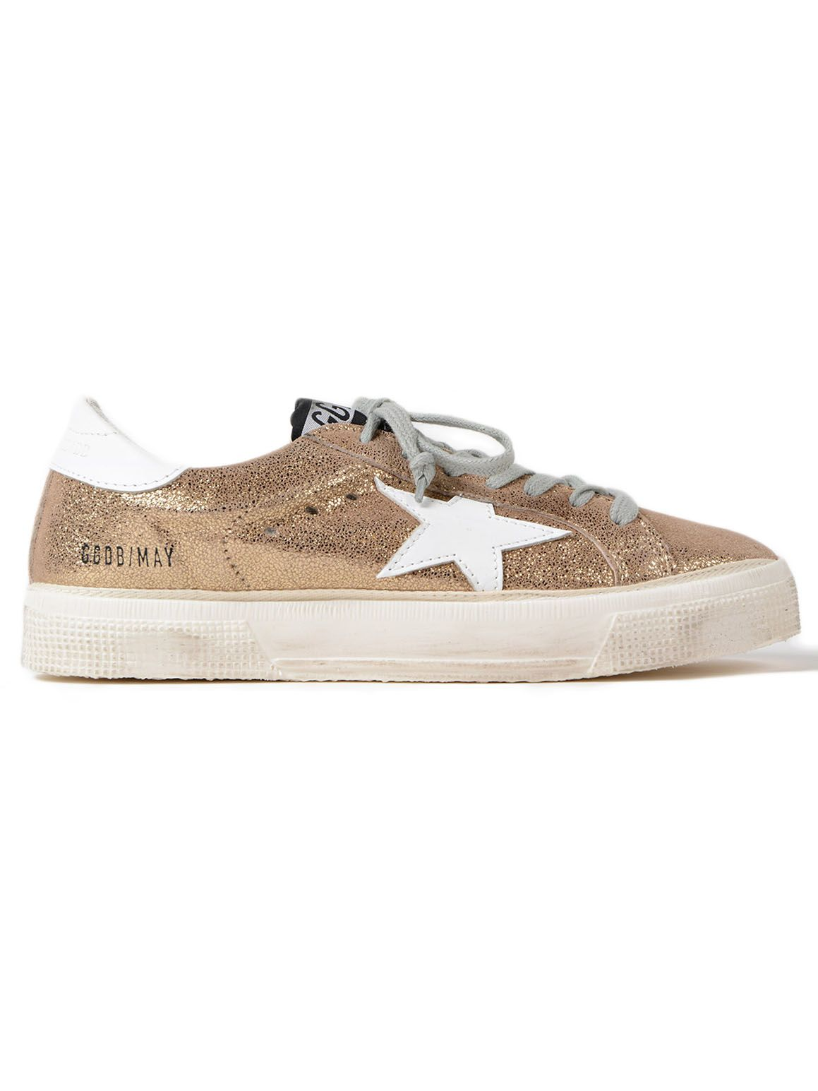 Golden Goose Sneakers May Crack-white Star