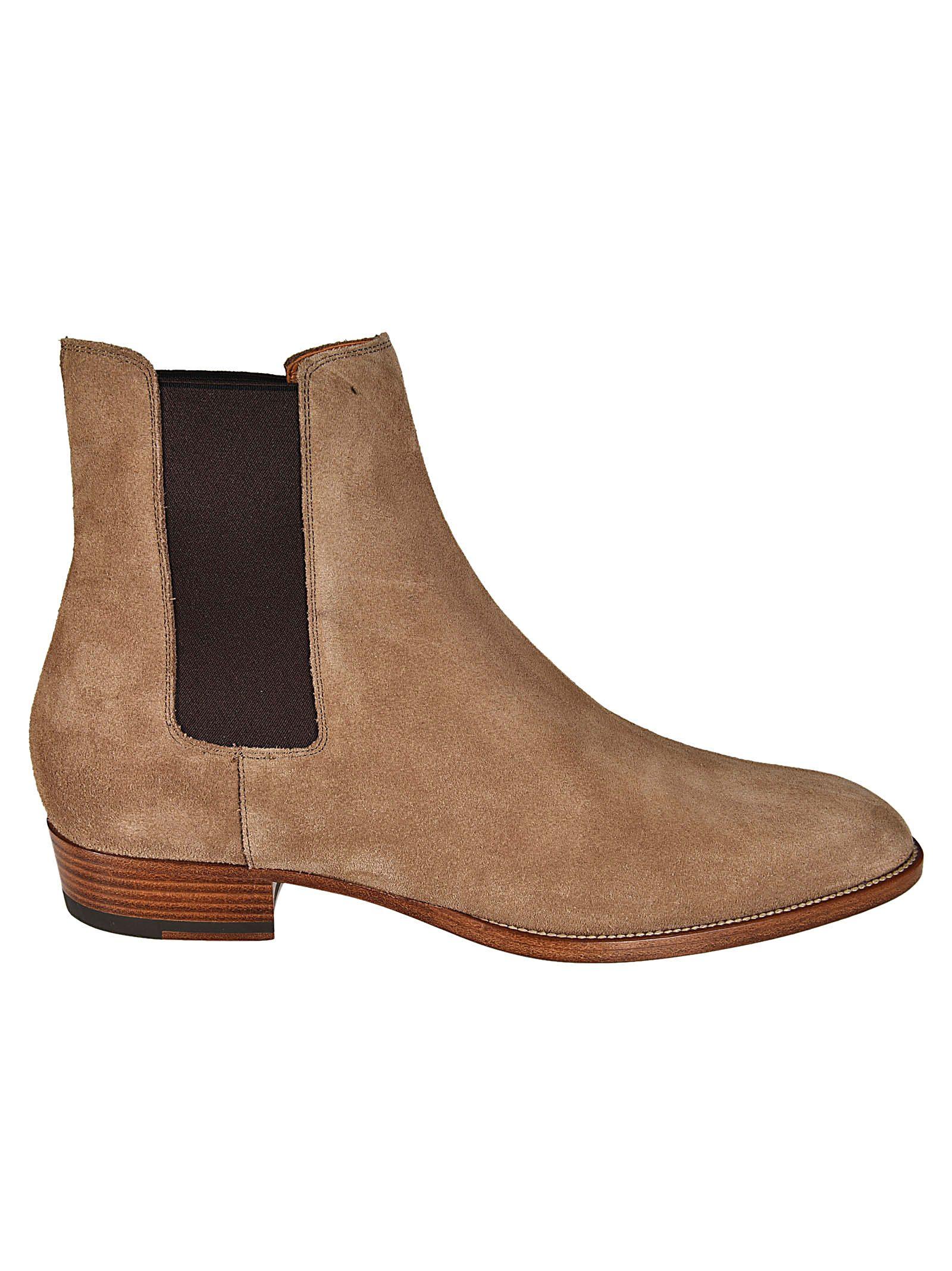 Saint Laurent Classic Wyatt 30 Chelsea Boots