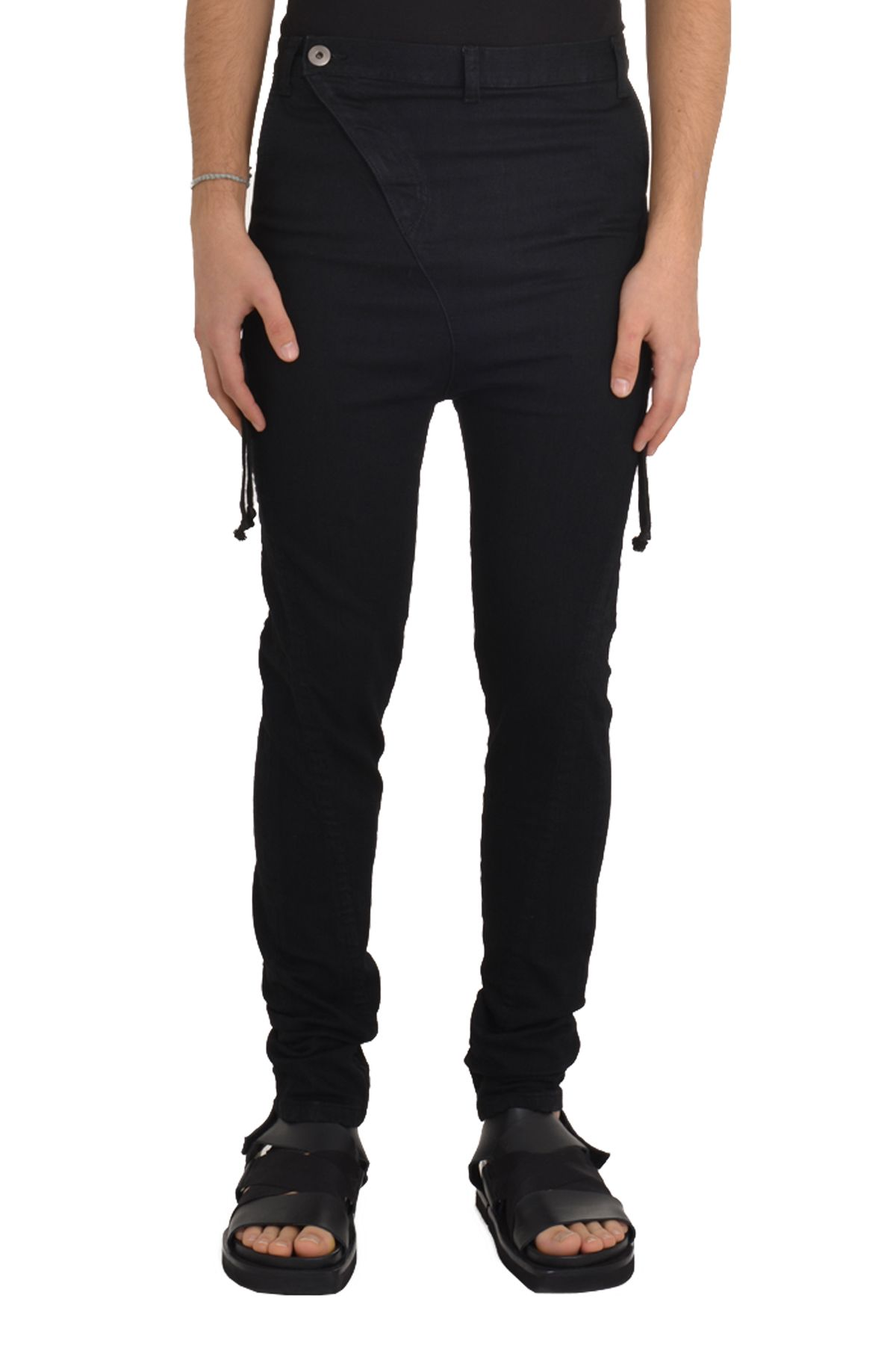 7551 Stringed Denim Pants