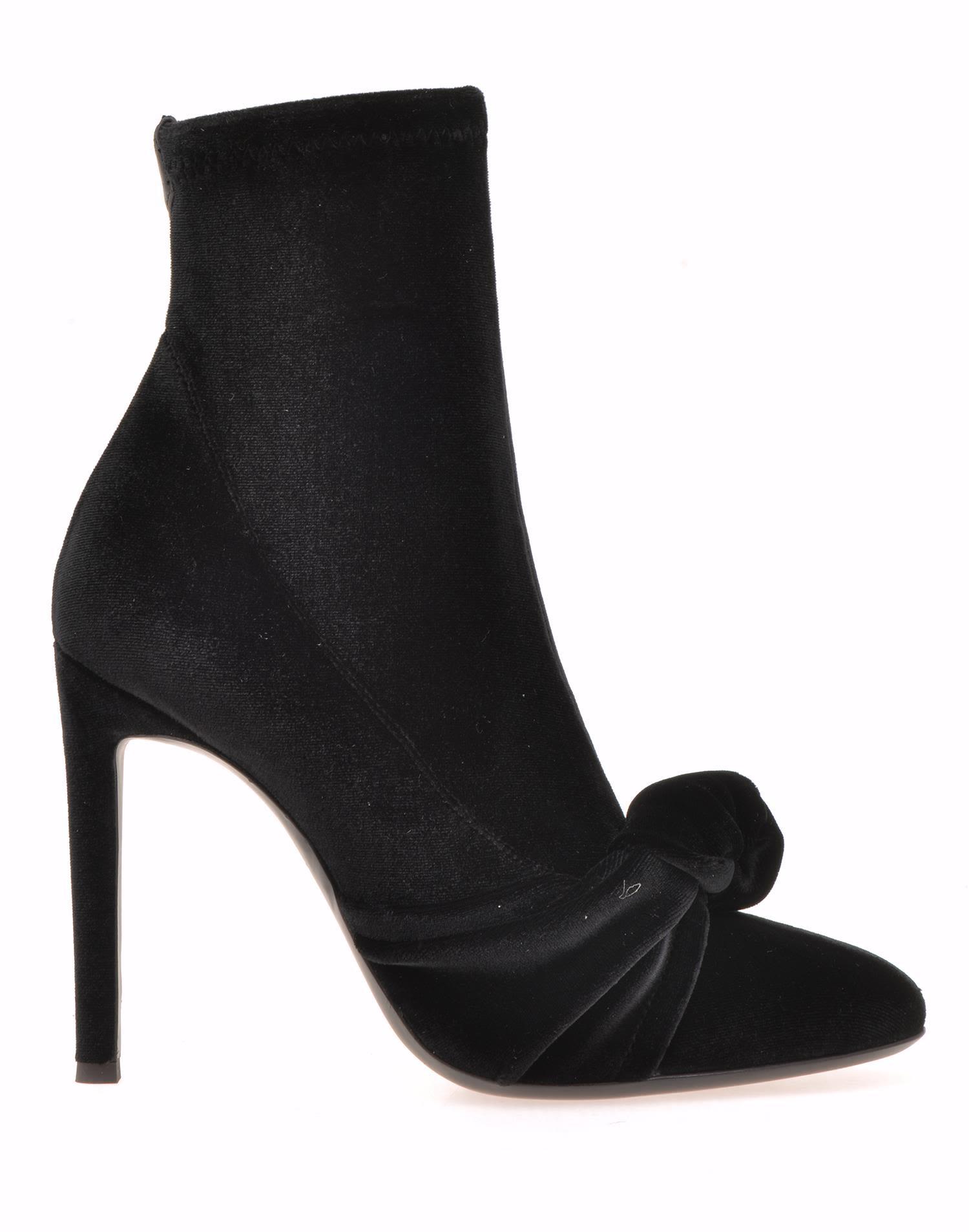 Giuseppe Zanotti Velvet Ankle Boot