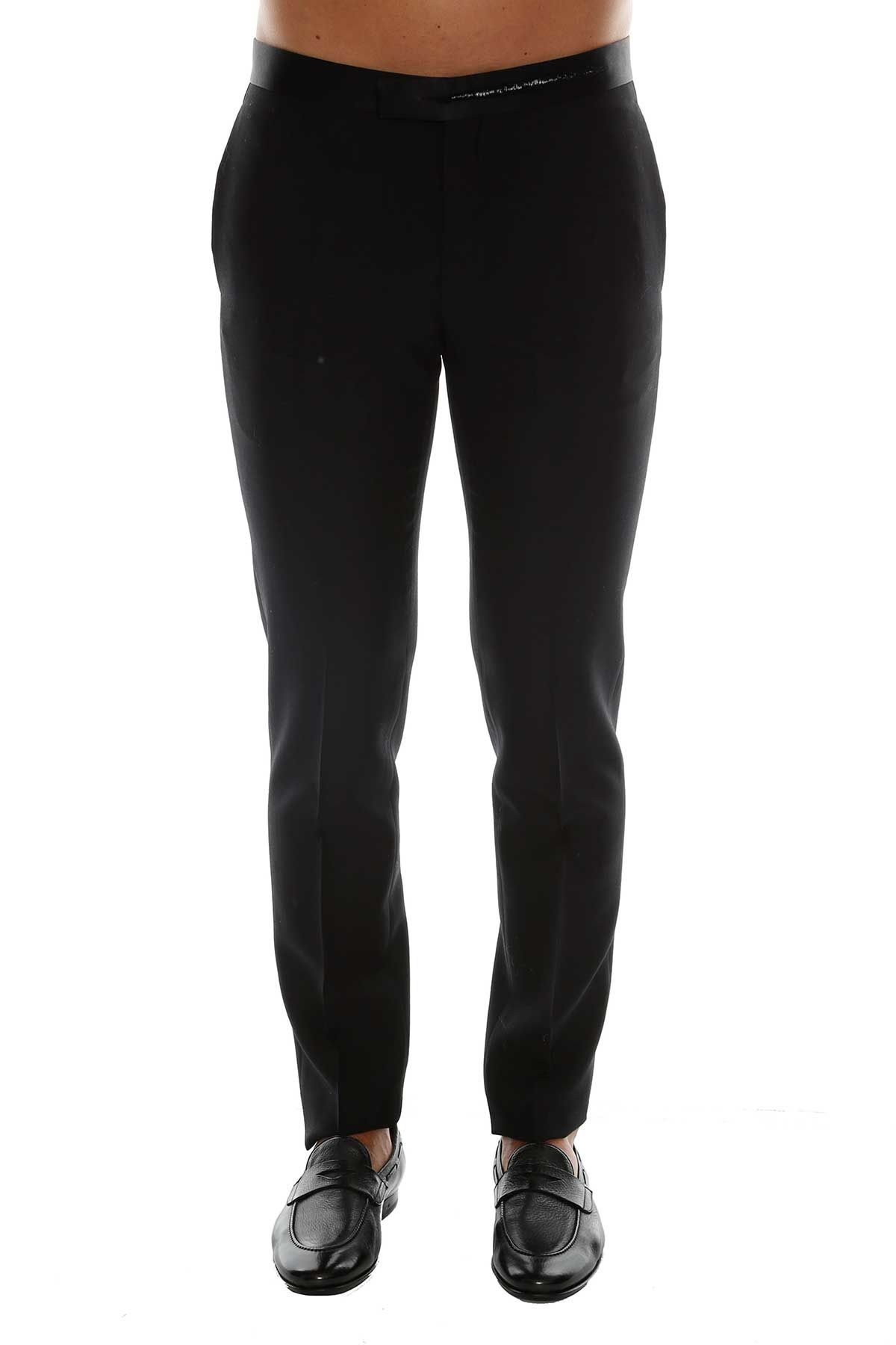 Dior Homme Dior Cut Embroidery Trousers