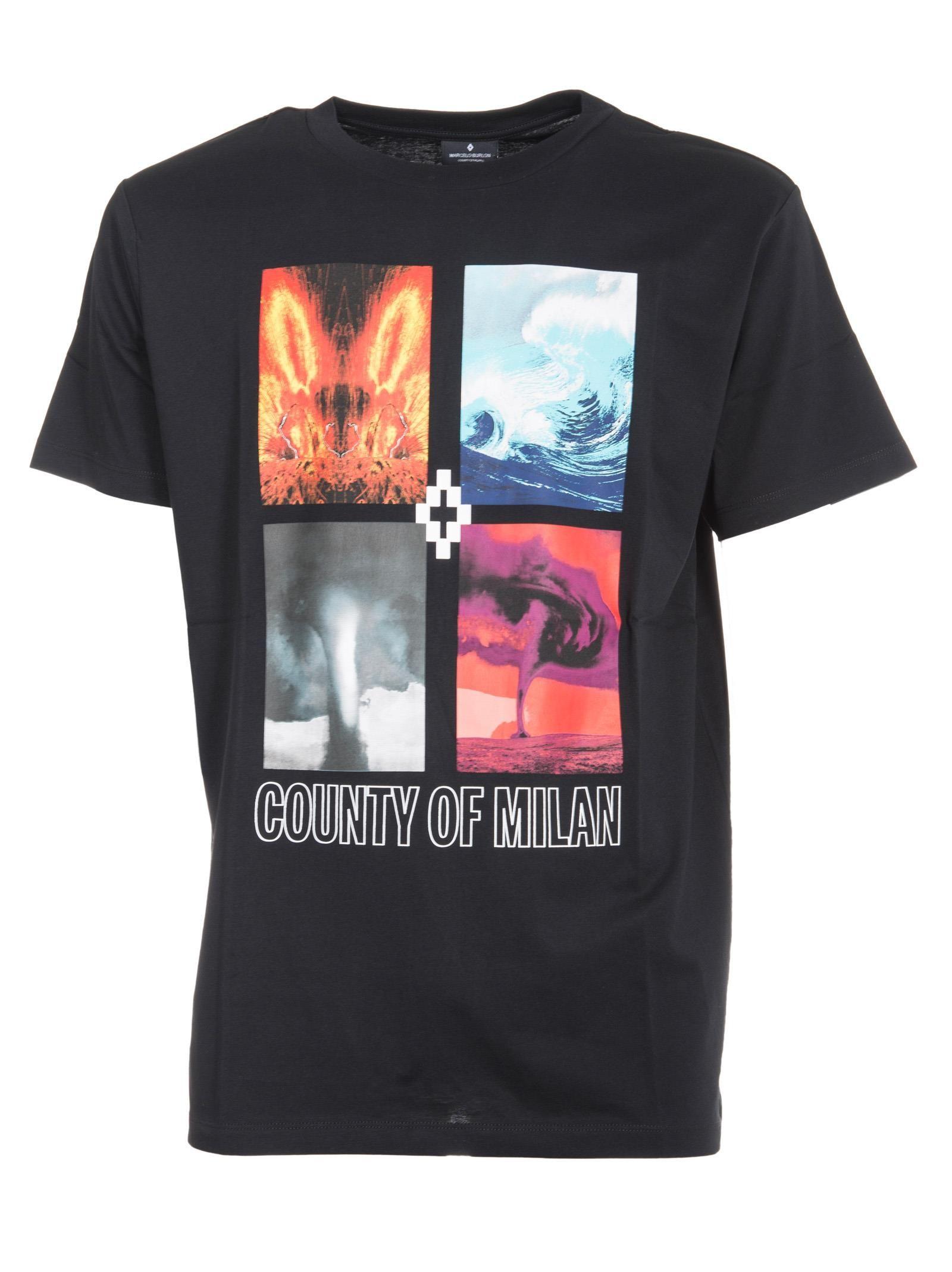 Marcelo Burlon Diuca Print T-shirt