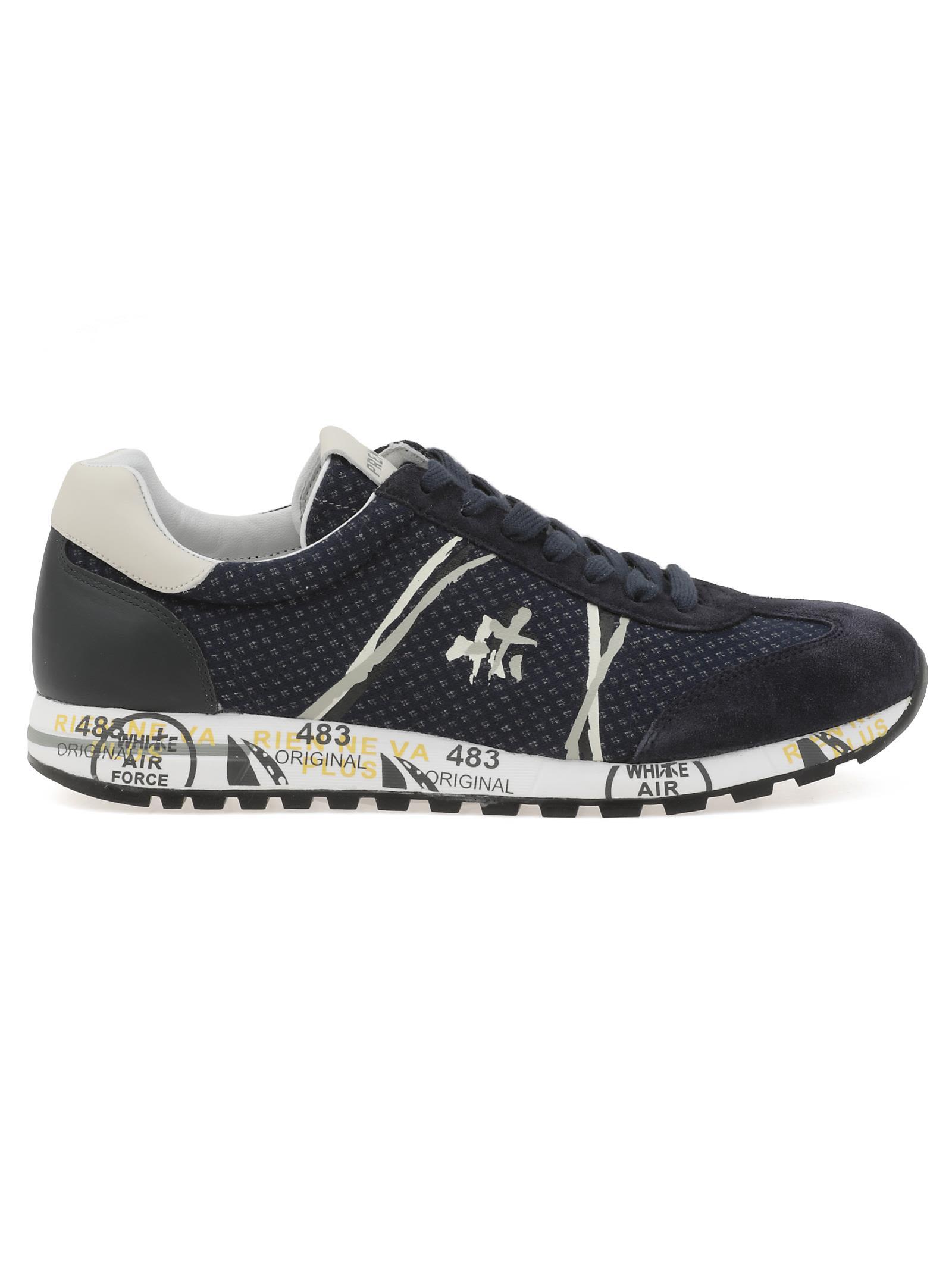 White Premiata Lucy 2806 Sneaker