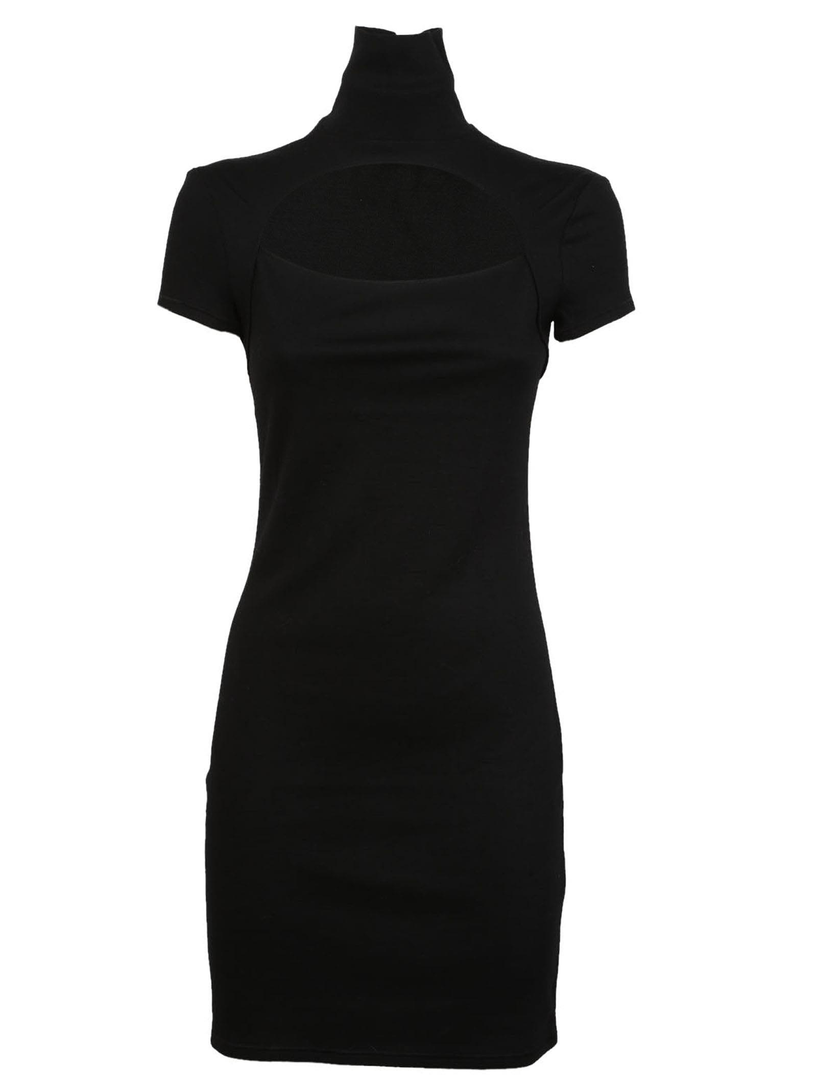 Helmut Lang Cut-out Dress