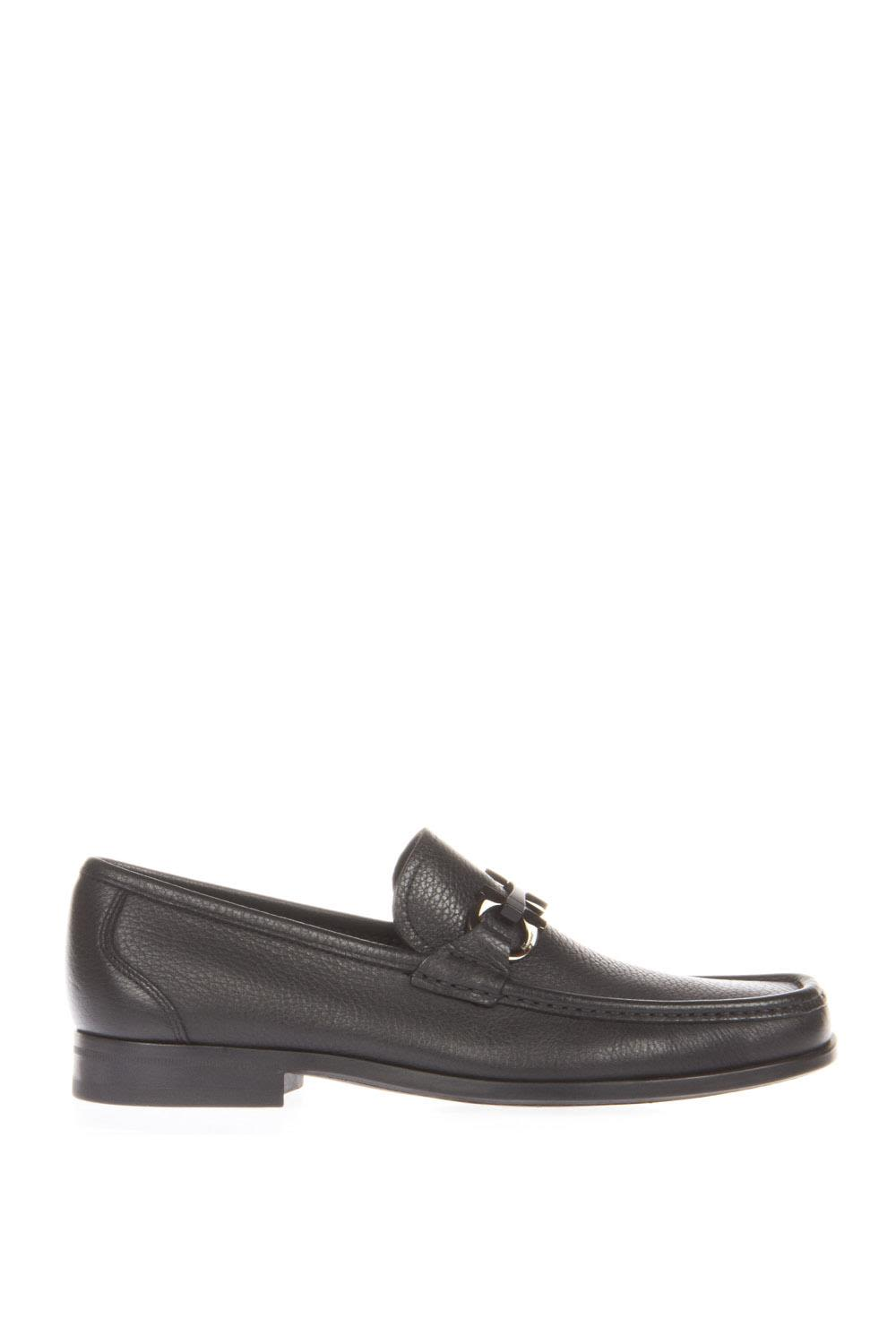 Salvatore Ferragamo Horsebit Leather Loafers