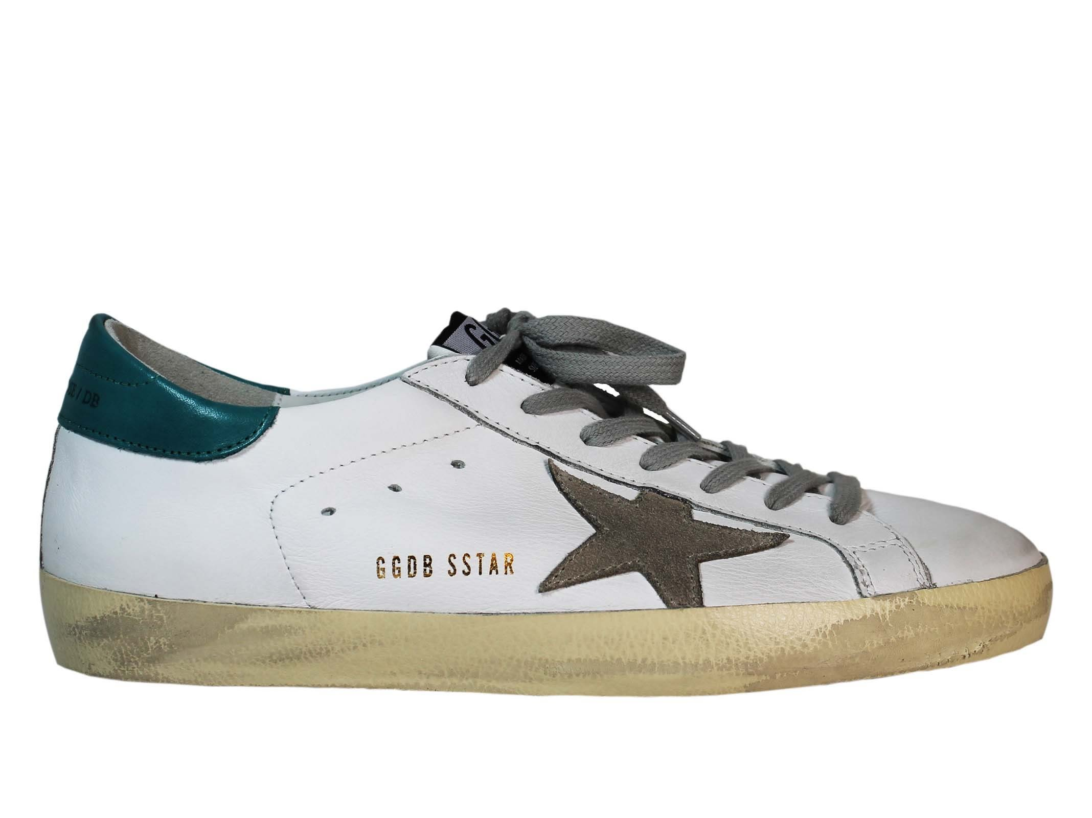 White Petroleum Superstar Low Sneakers
