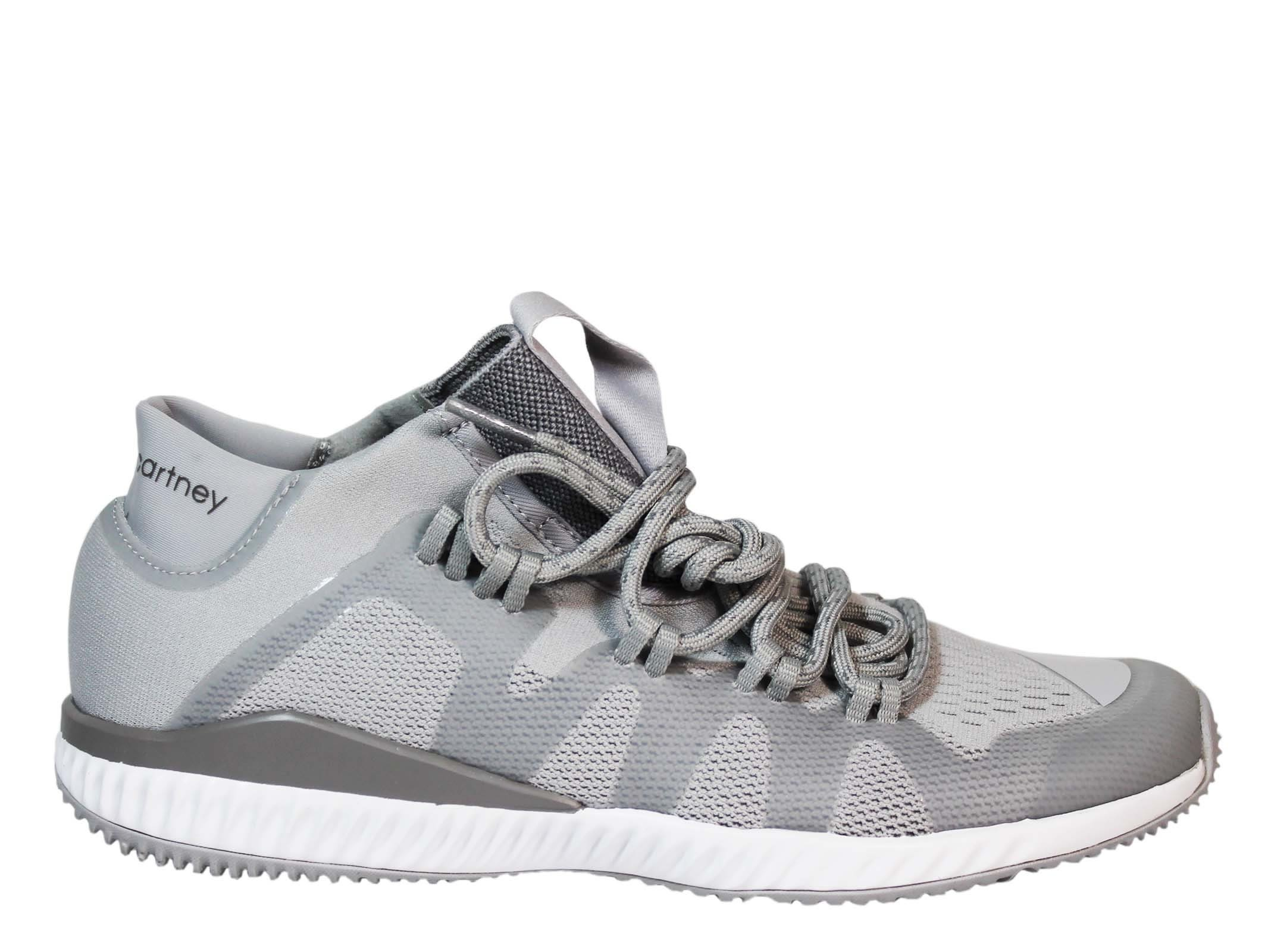 Adidas by Stella McCartney Grey Crazy Train Low Sneakers