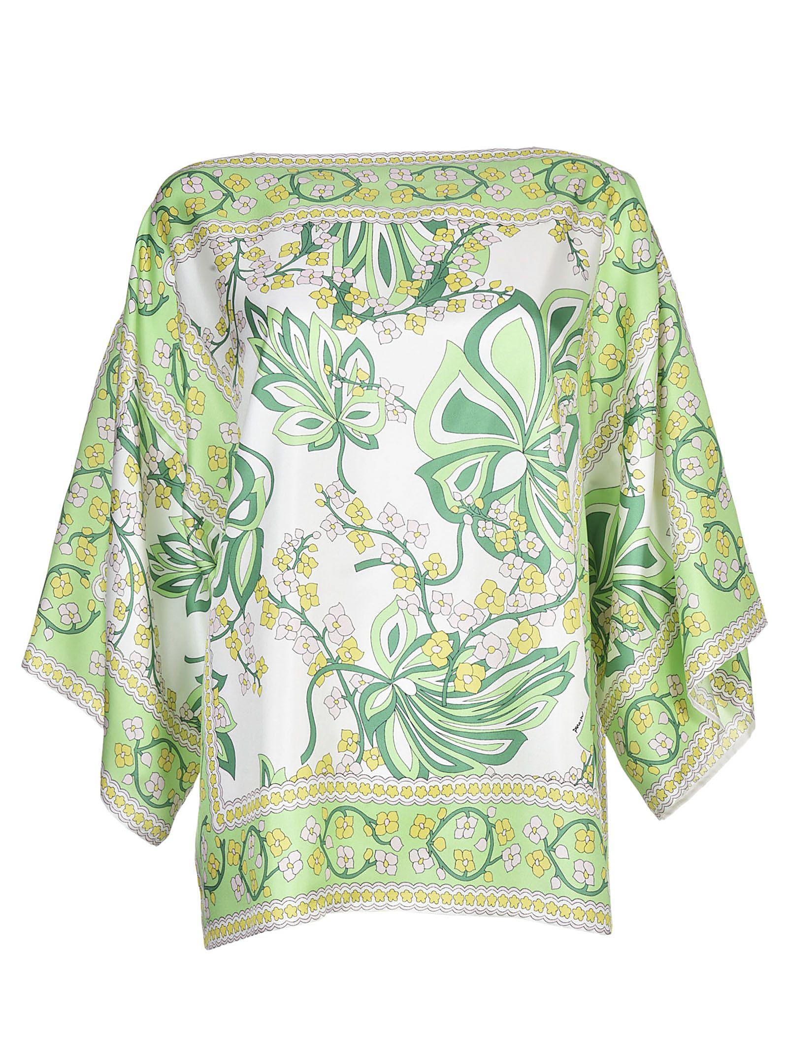 Parosh Leafy Top