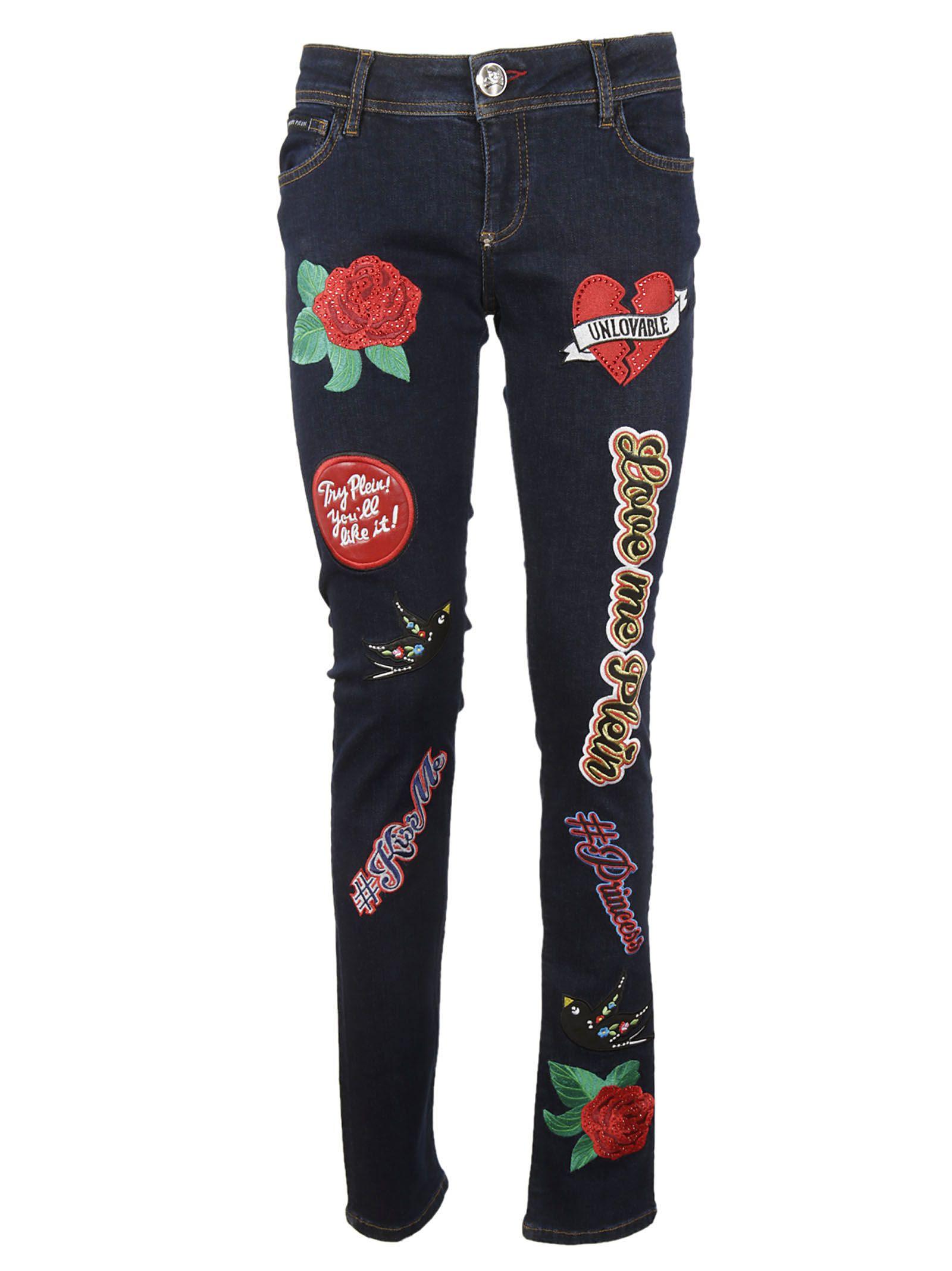 Philipp Plein Slim Fit Jeans