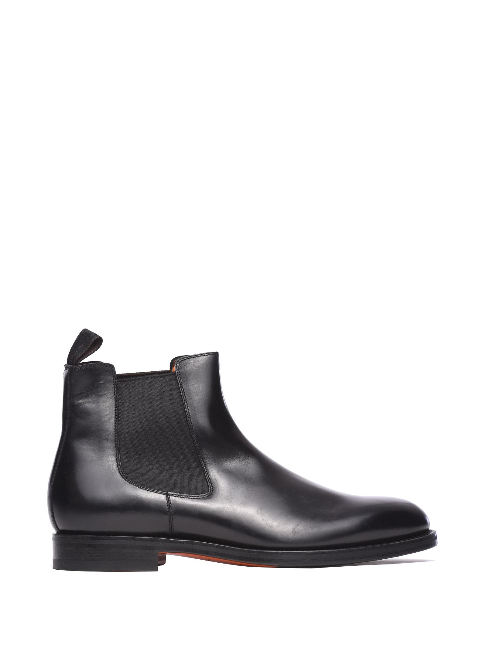 Santoni Beatles Ankle Boots