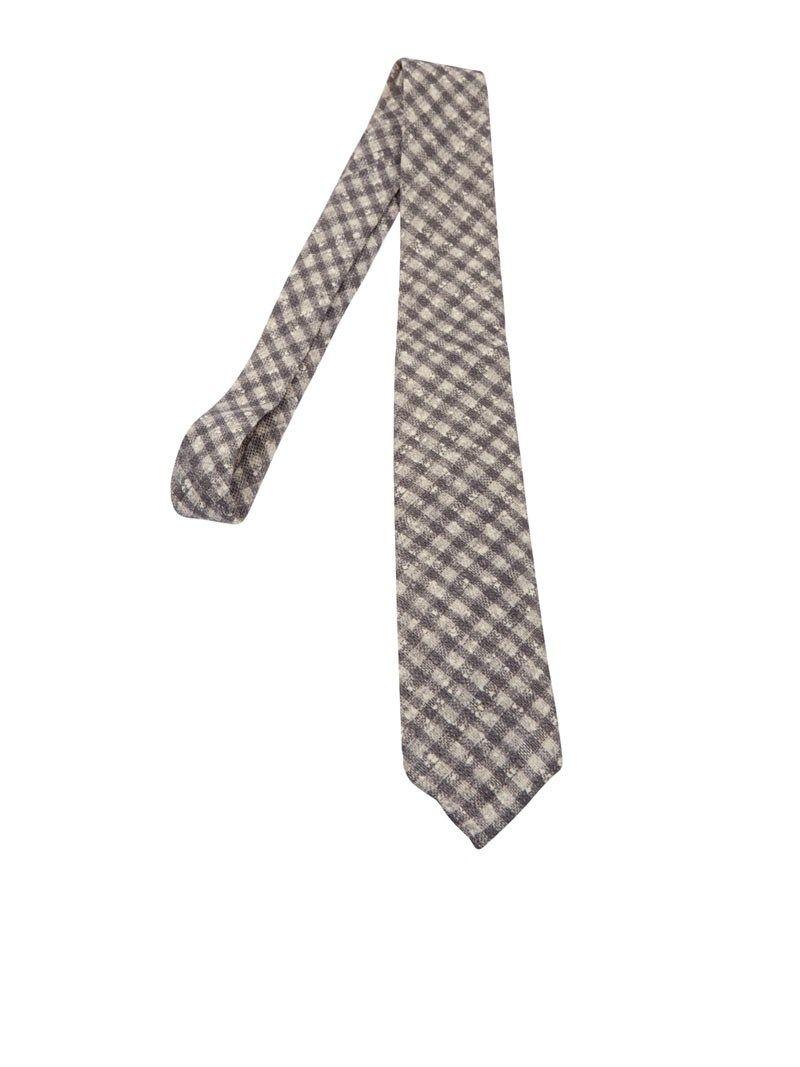 Luigi Borrelli Checked Pattern Tie