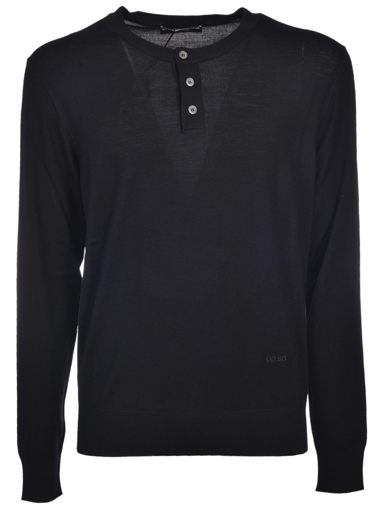 Dolce & Gabbana Buttoned Sweater