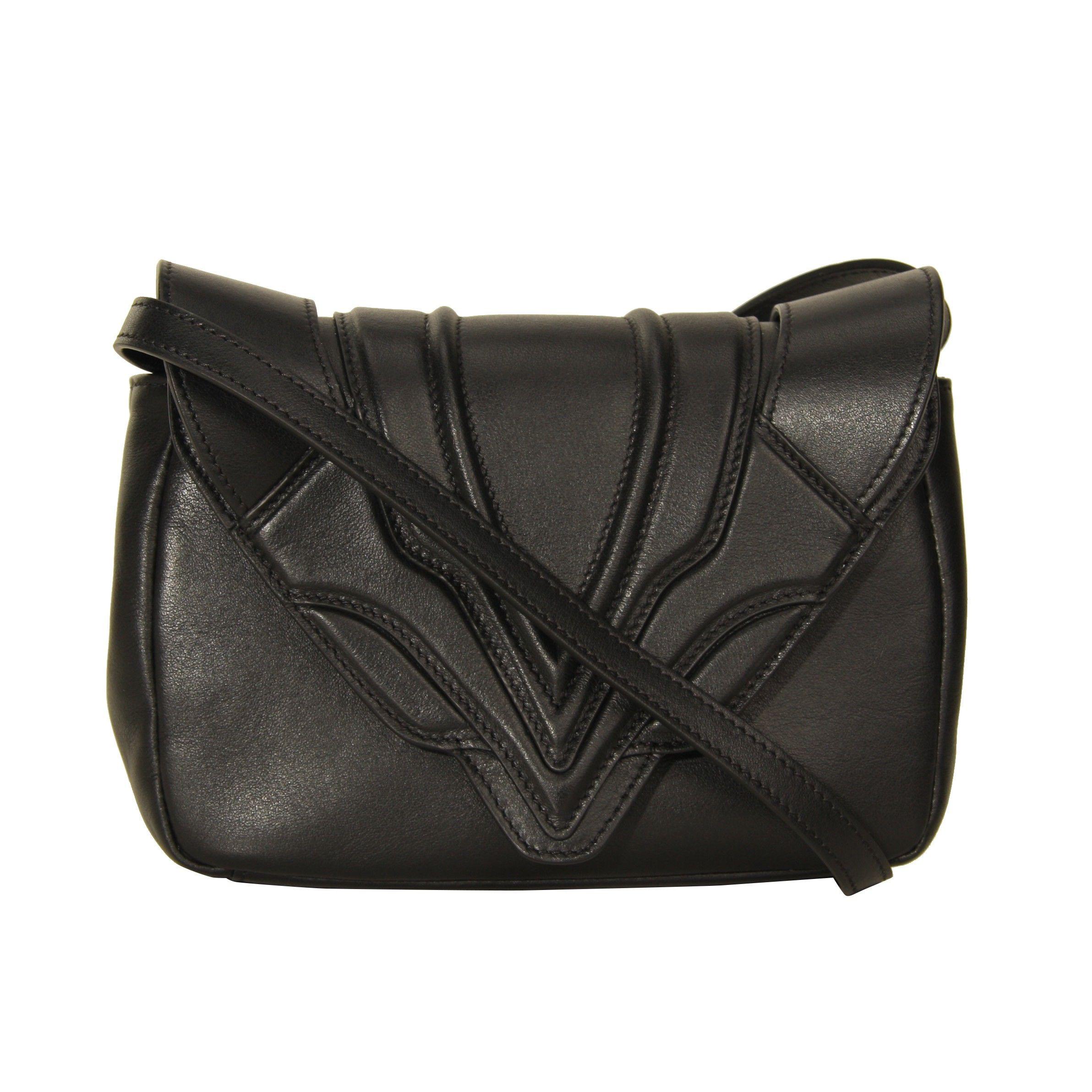 Elena Ghisellini Black Felix Cross Body Bag