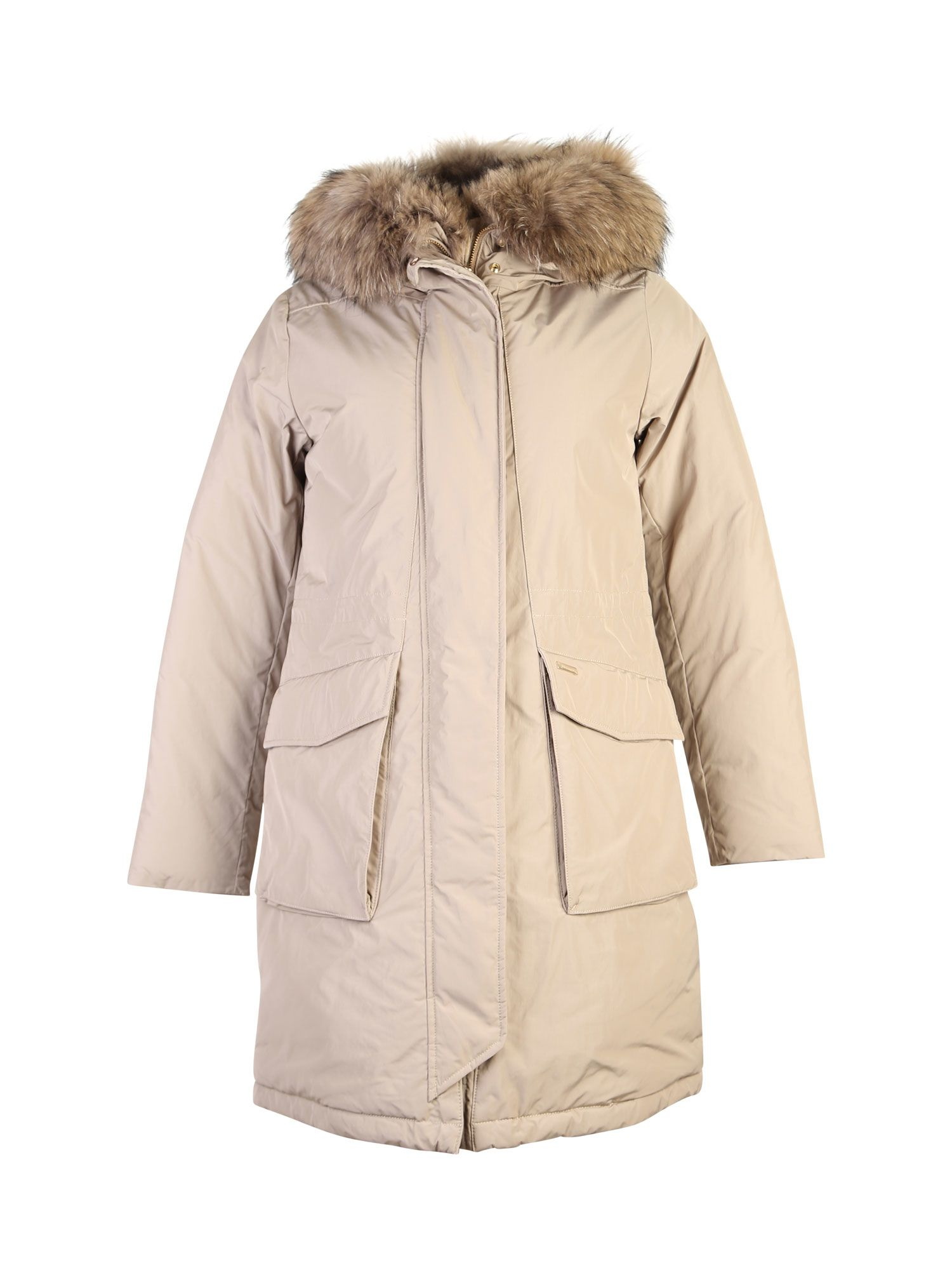 Parka Coat With Fur
