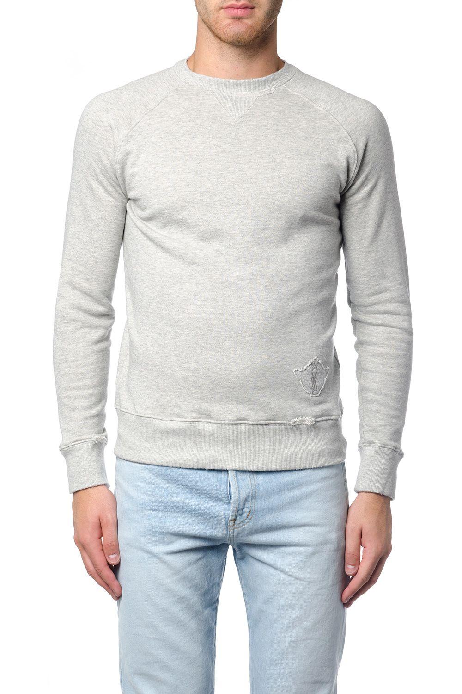 Saint Laurent Ditressed Cotton Sweatshirt