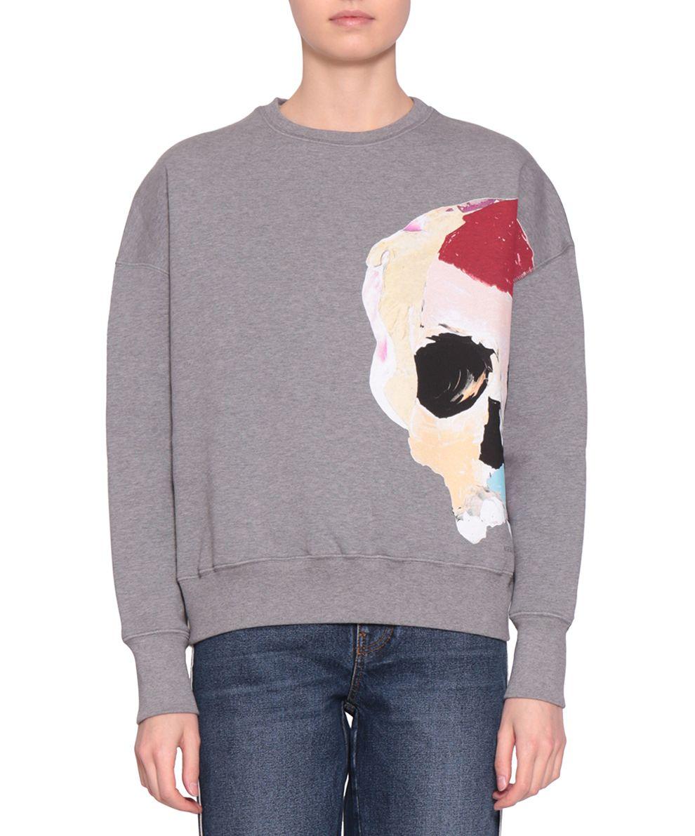 Alexander McQueen Skull Cotton Sweatshirt