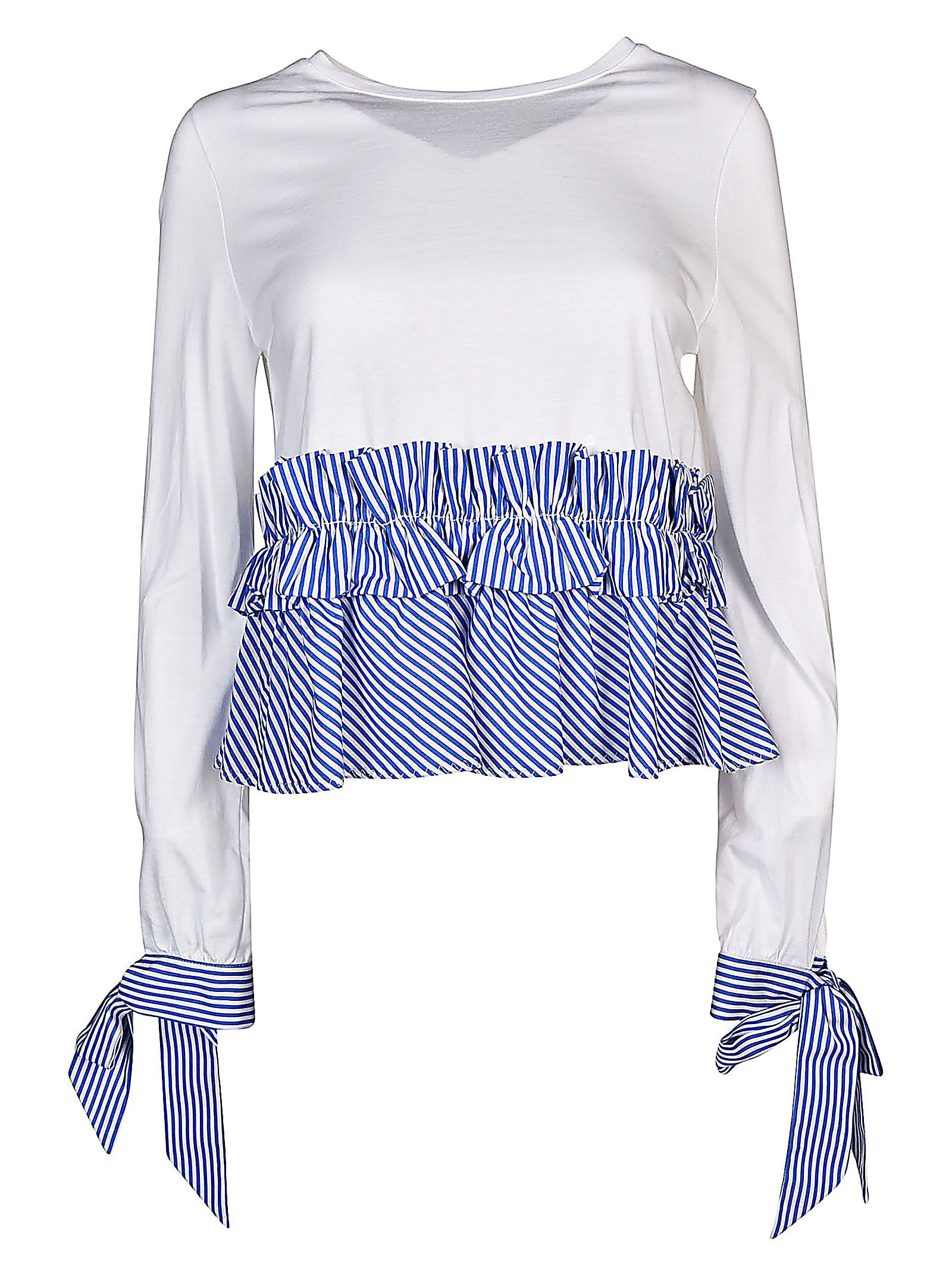 Ermanno Scervino Pleated T-Shirt