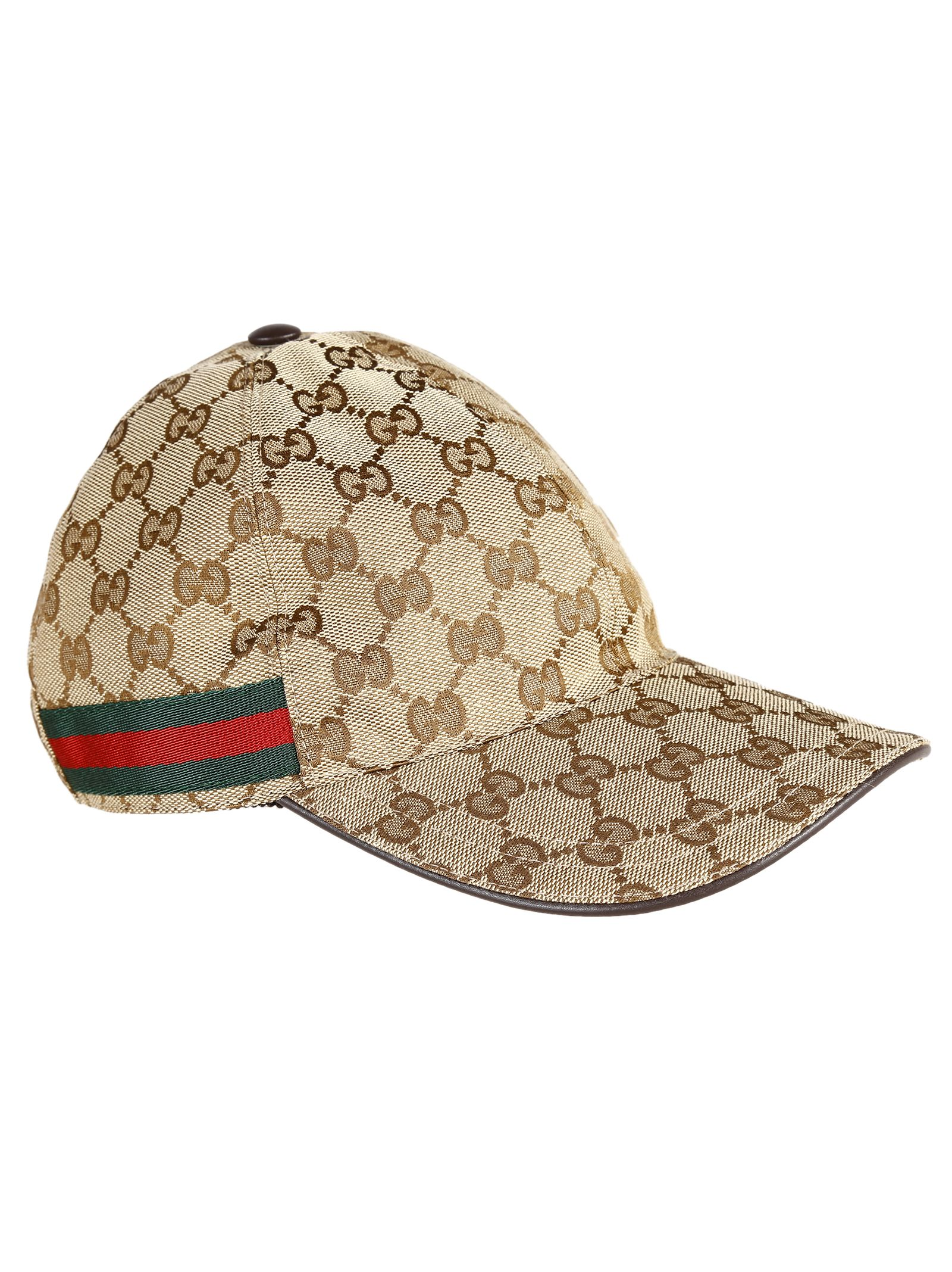 gucci gucci original gg canvas hat beige s hats