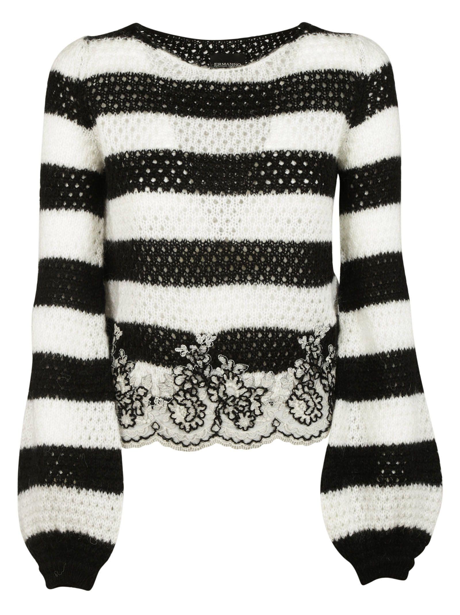 Ermanno Scervino Striped Sweater
