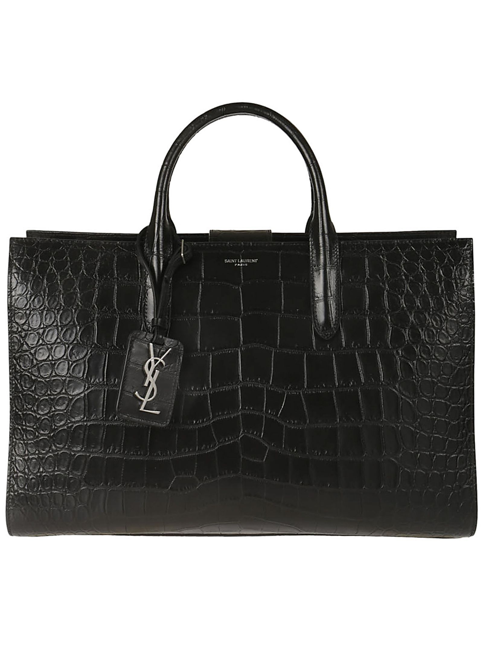 Saint Laurent Quilted Tote
