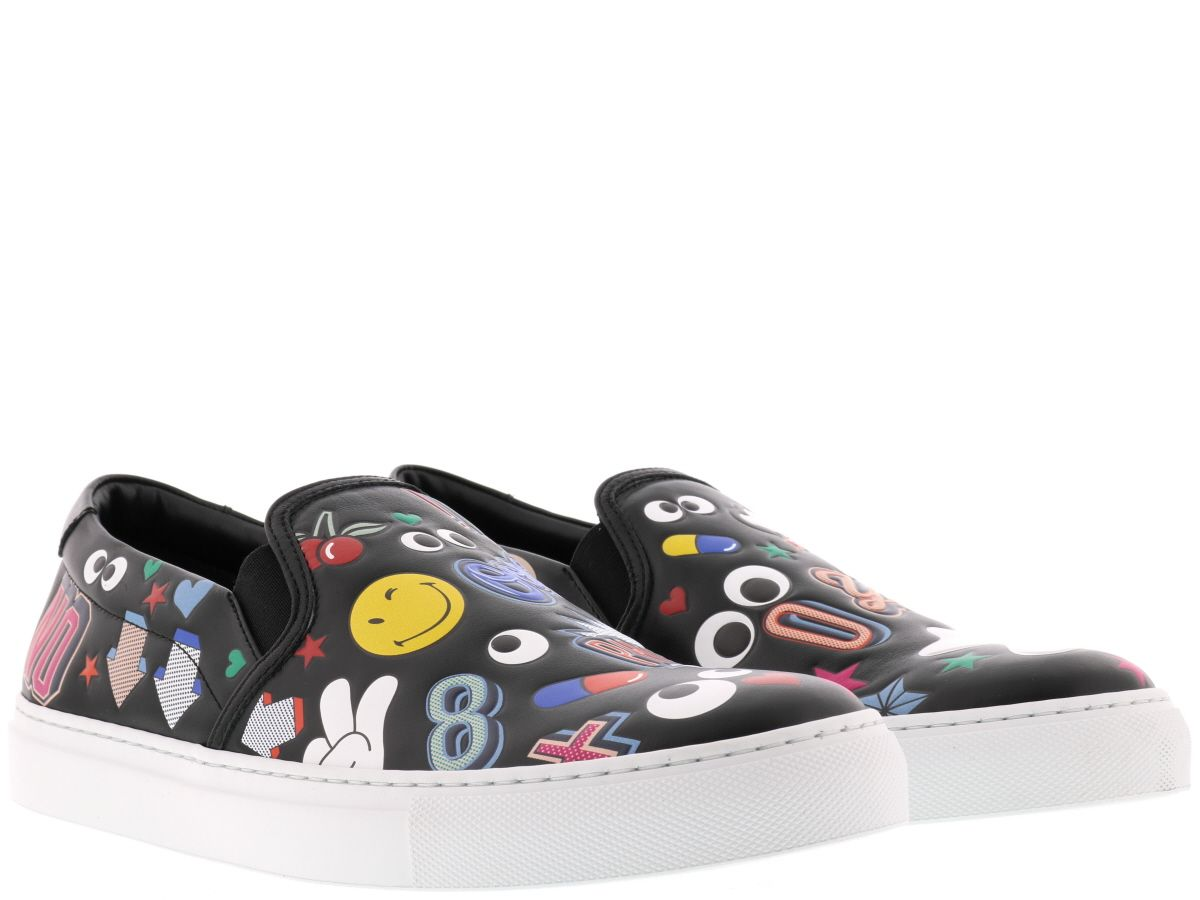 Anya Hindmarch All Over Stickers Slip On
