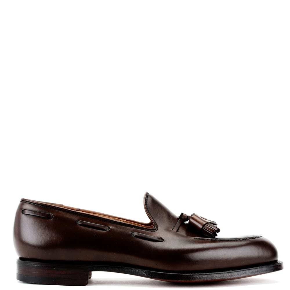 Crockett & Jones Brown Cavendish Tassels Loafers