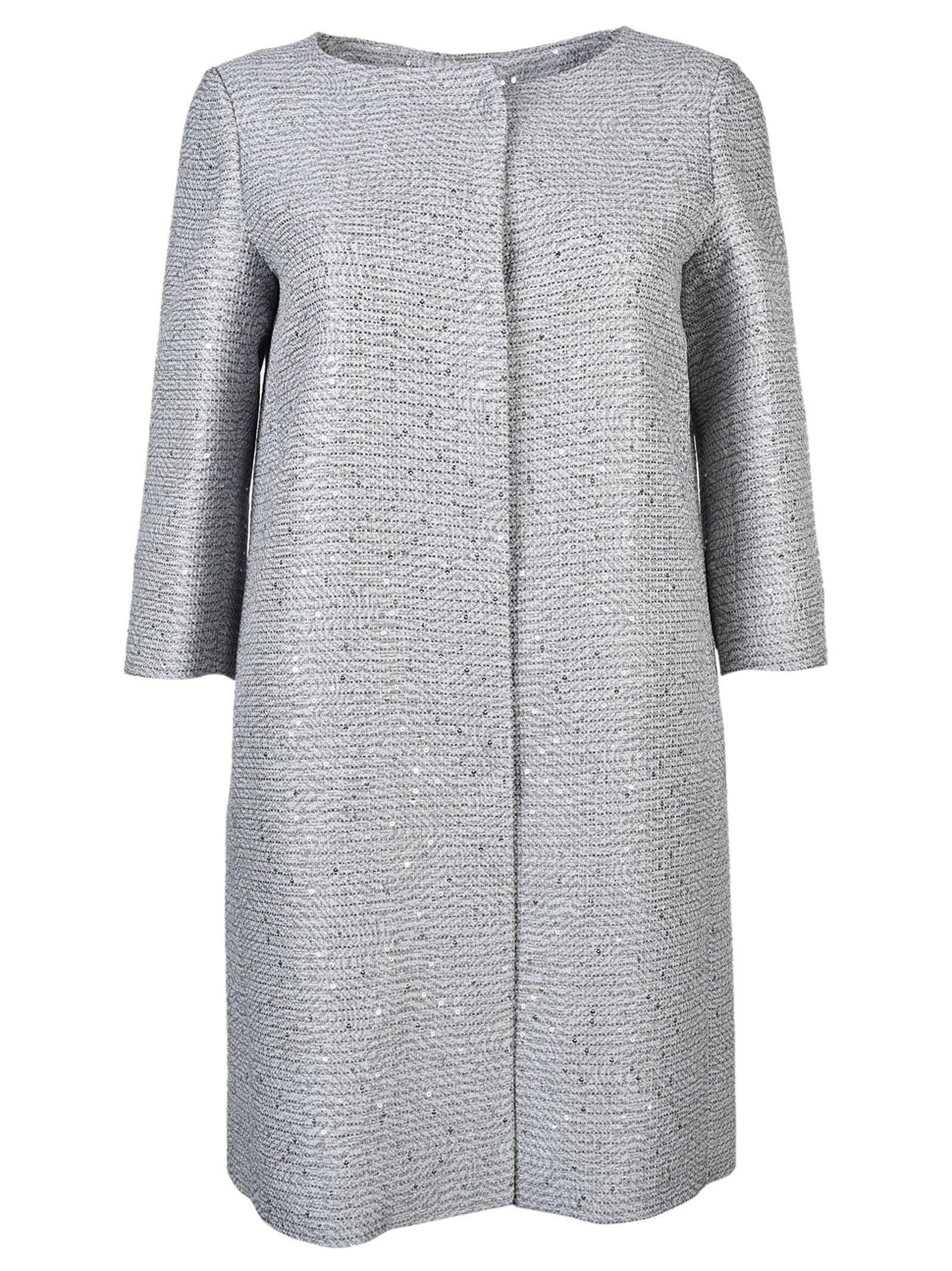 Herno Three-quarters Sleeve Midi Coat