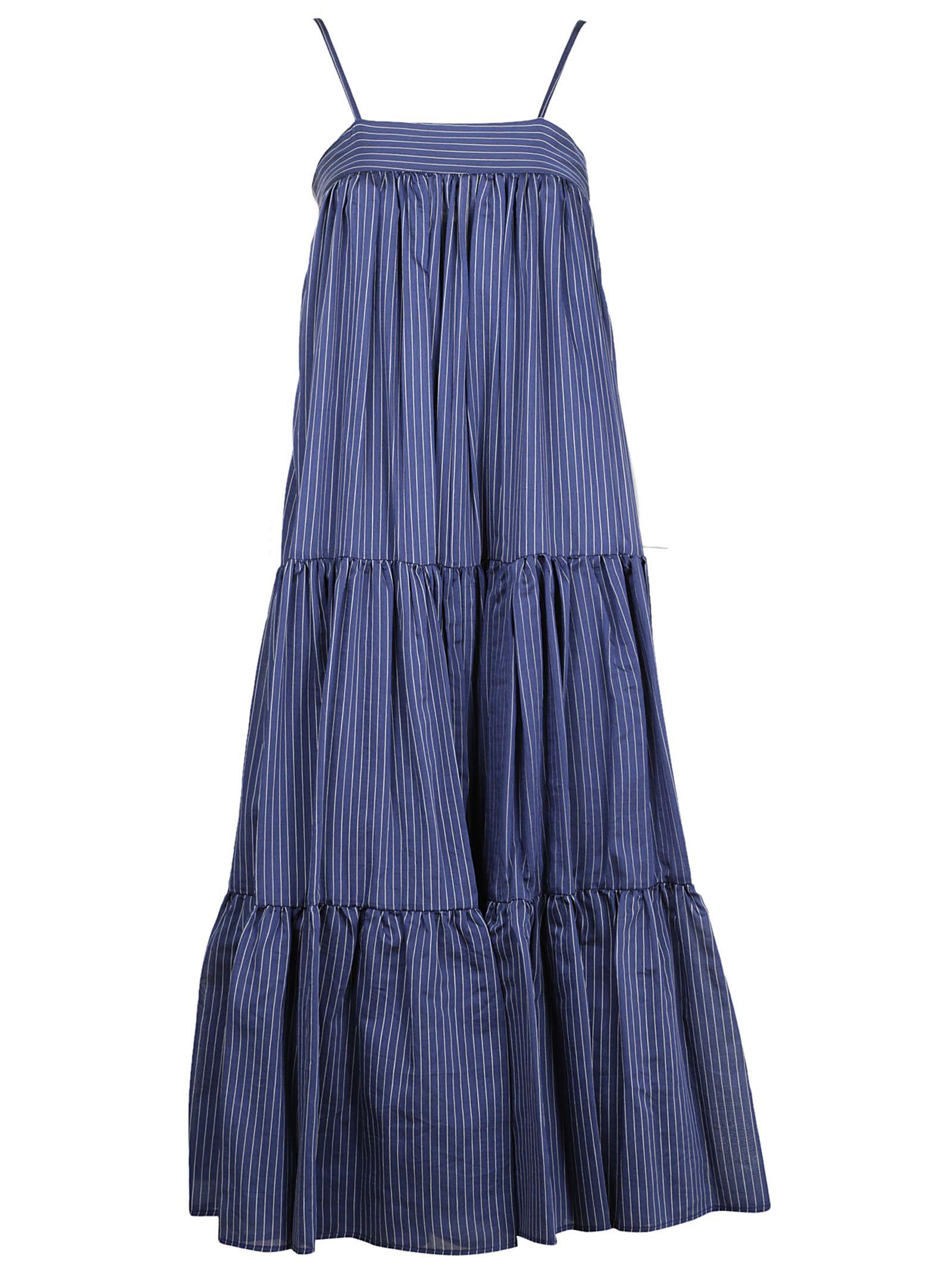 Erika Cavallini Pinstripe Dress
