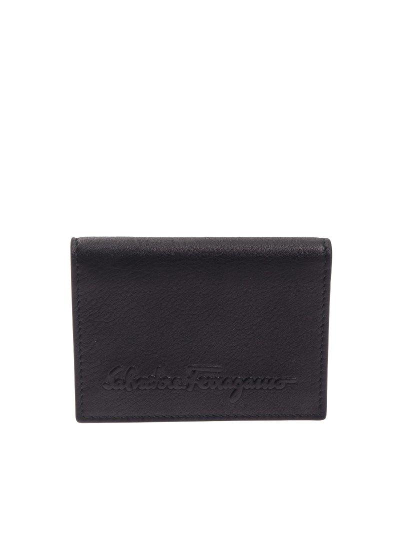 Salvatore Ferragamo Embossed Logo Wallet