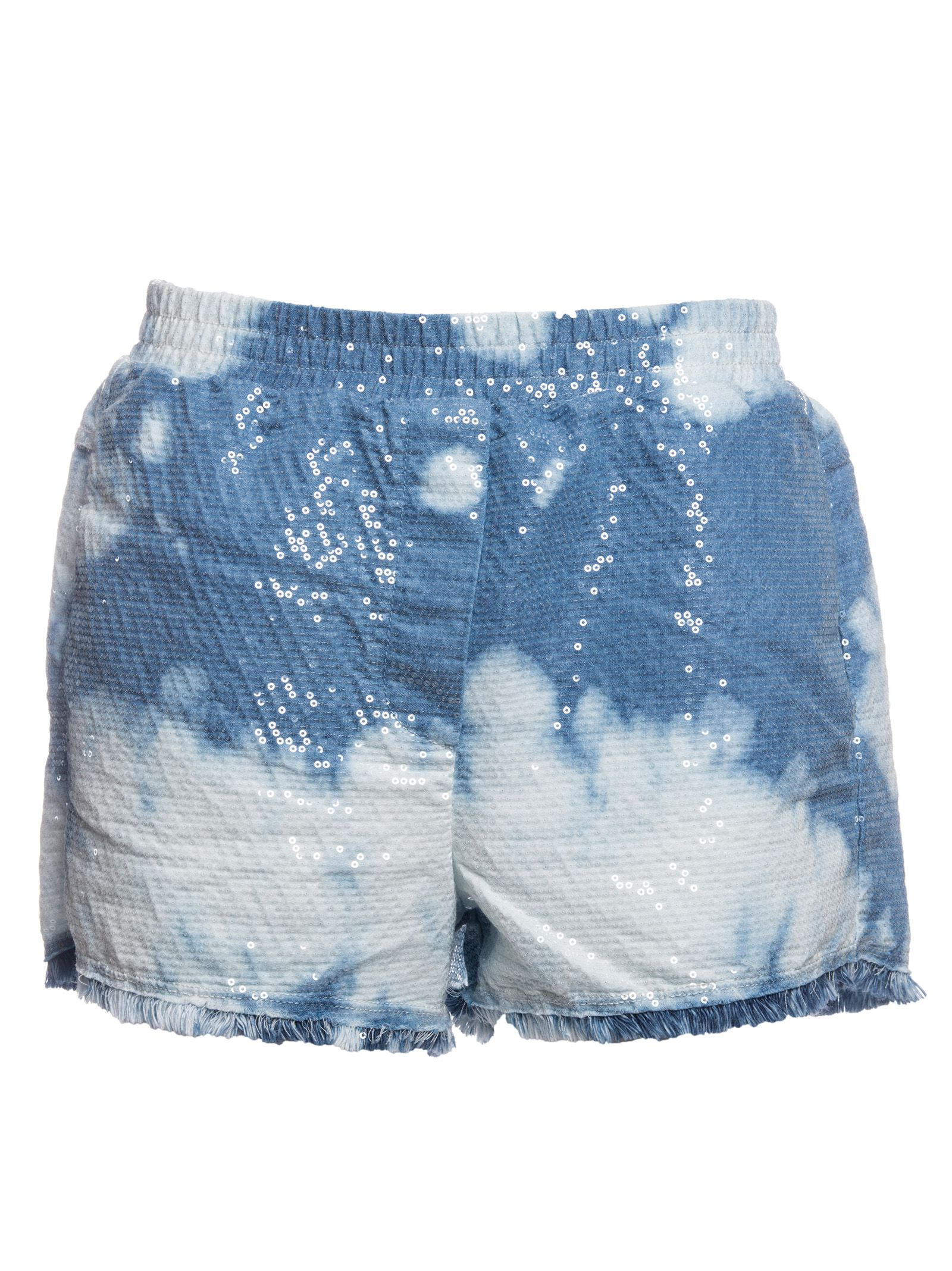 8pm 8pm sequin tie dye shorts denim women 39 s shorts for Nike tie dye shirt and shorts