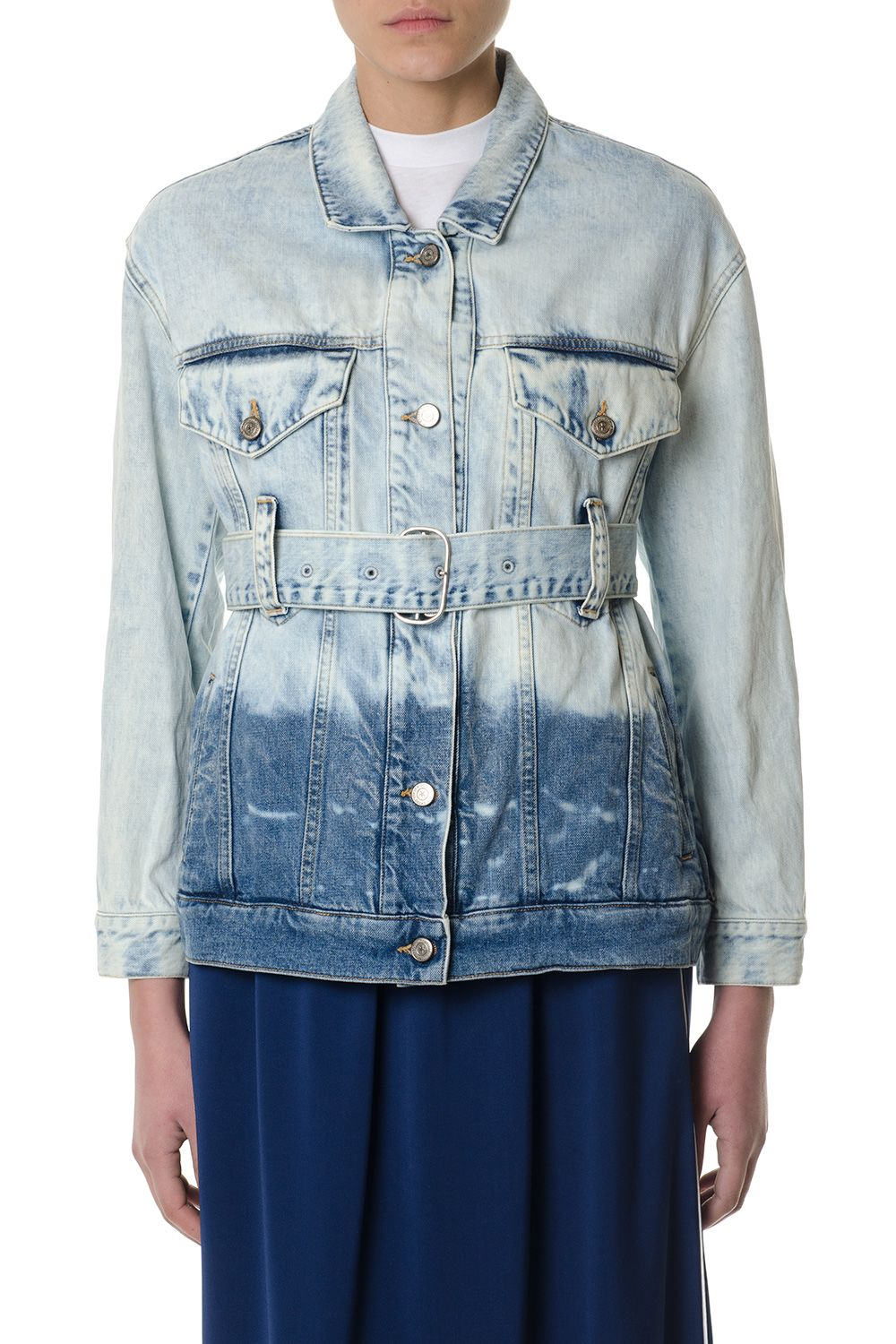 Golden Goose Cotton Denim Stonewash Jacket