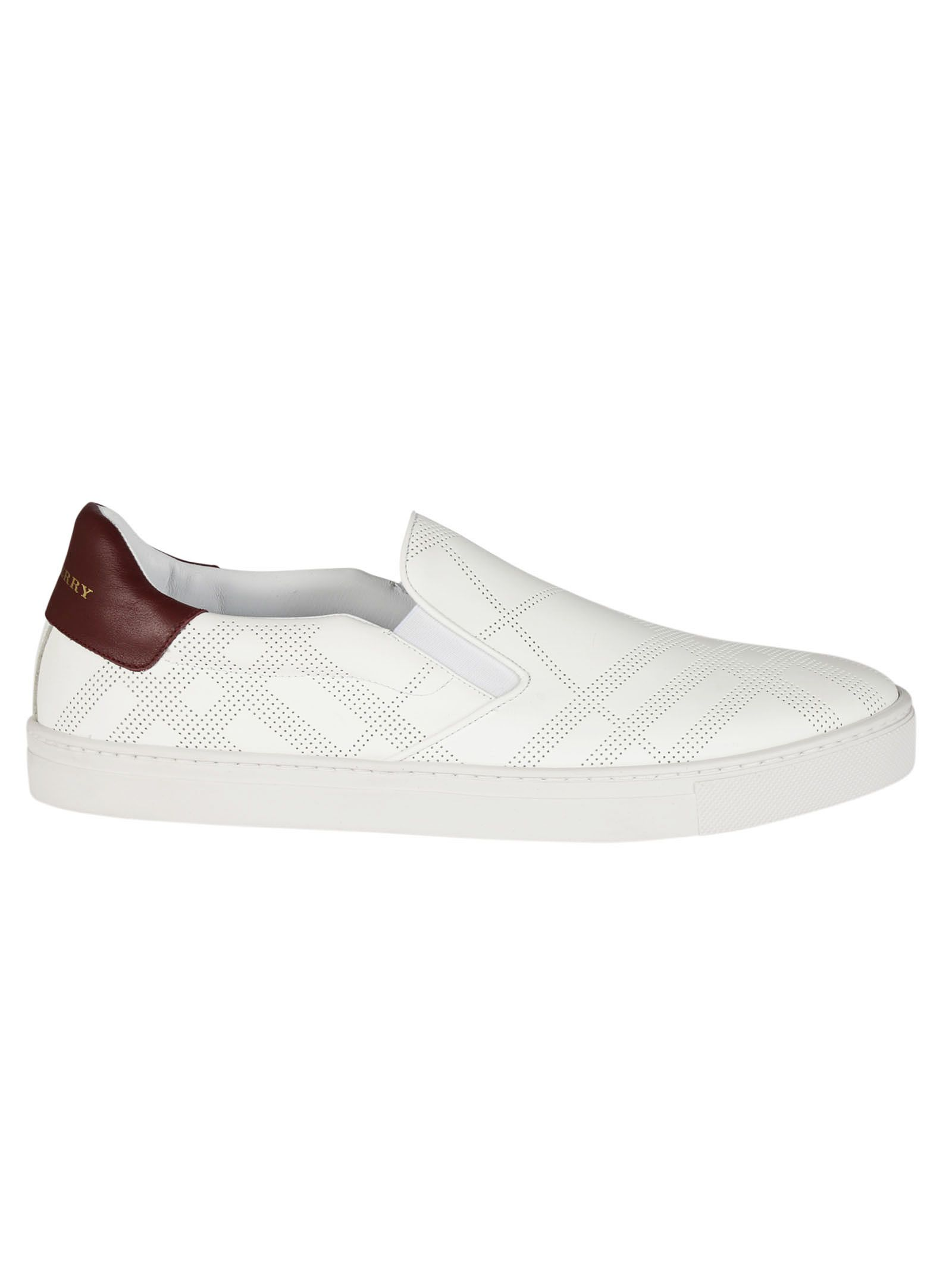 Burberry Copford Check Slip-on Sneakers
