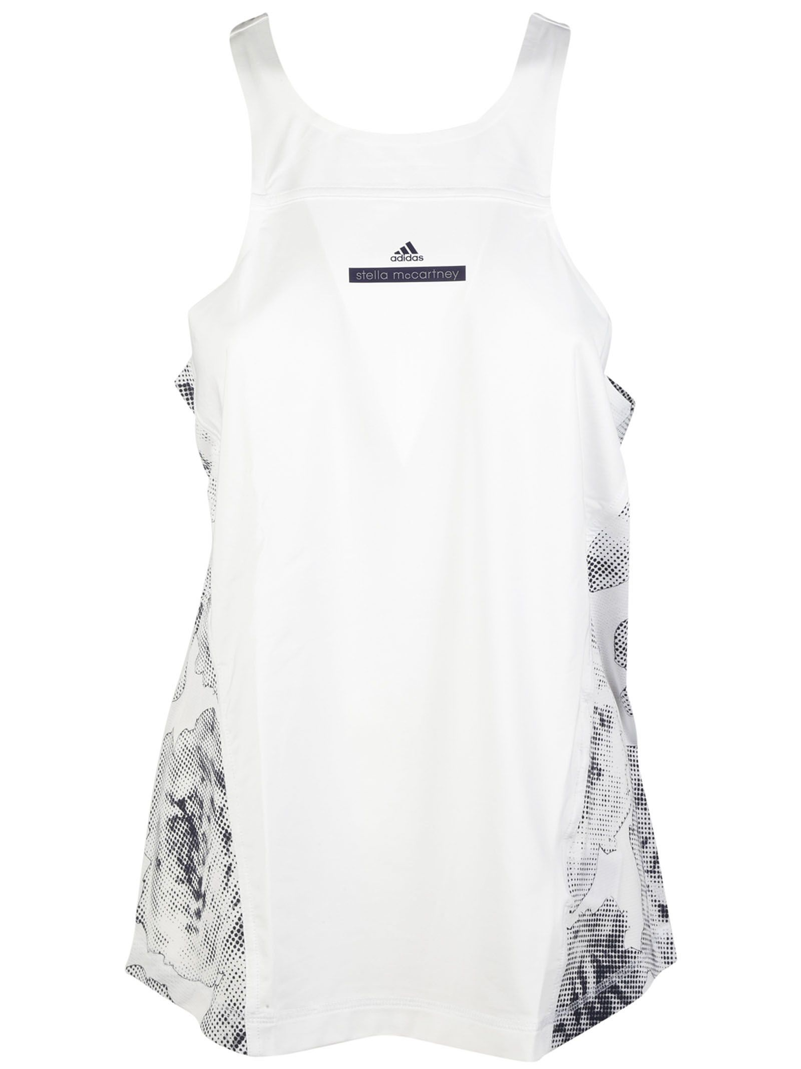 Adidas By Stella McCartney Floral Panel Fitted Tank Top