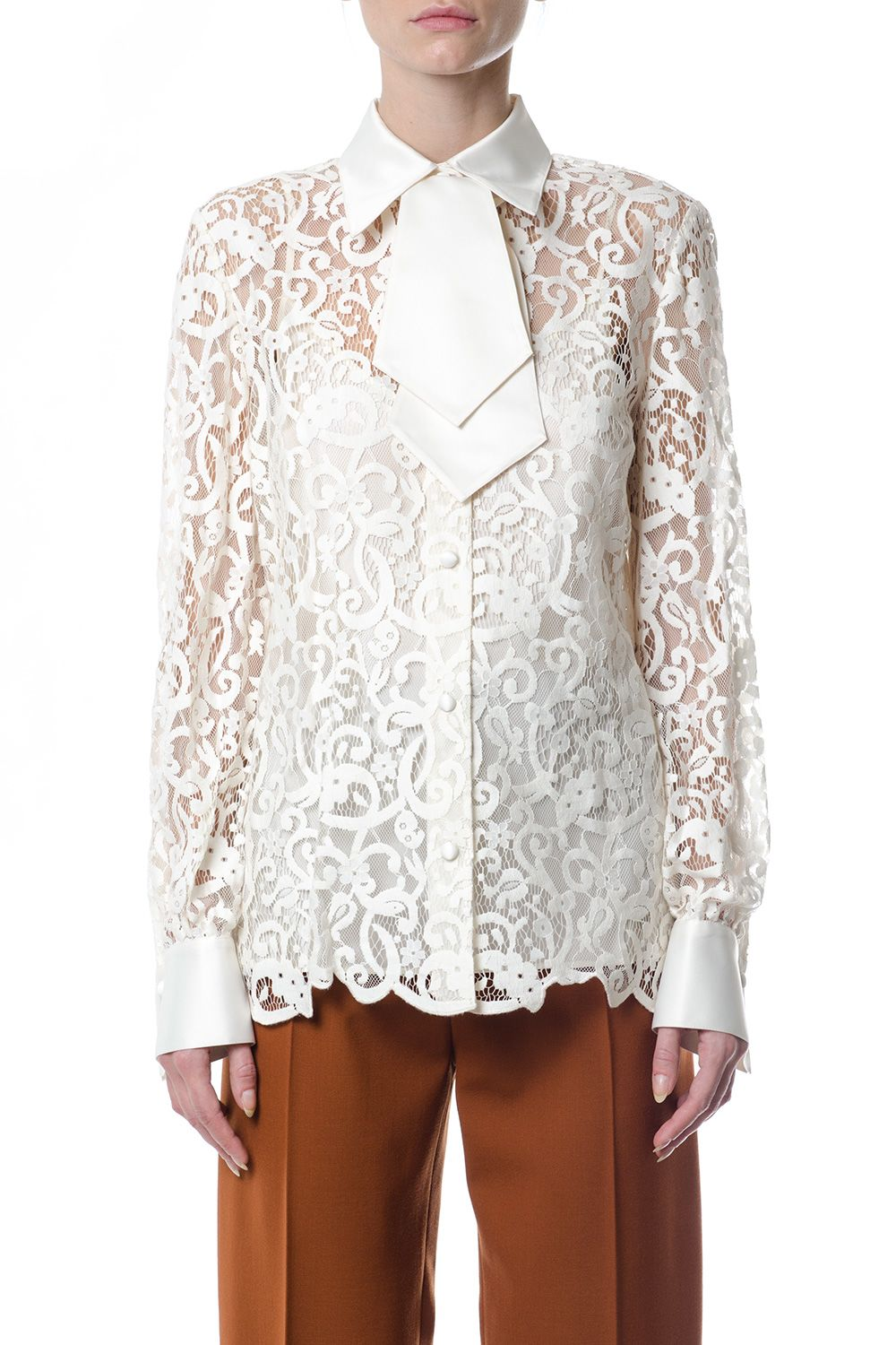 Tory Burch Rosie Lace Shirt