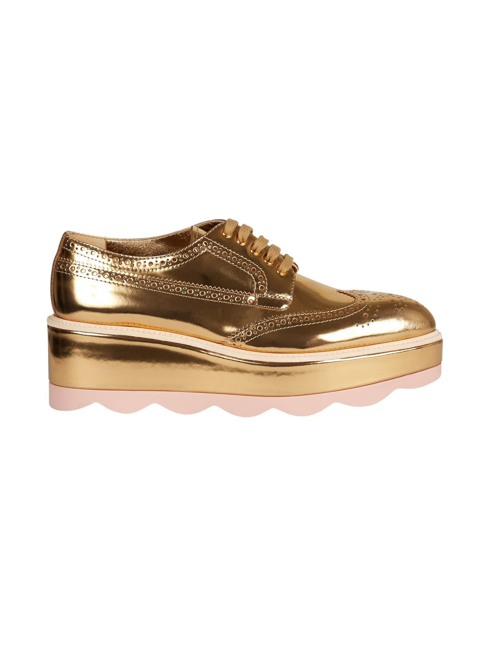Prada High Oxford Shoes