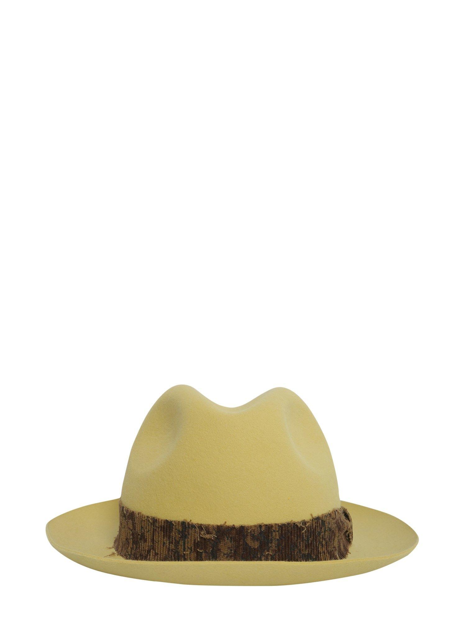 Brushed Felt Hat