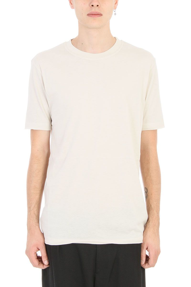 Damir Doma Tawni Dust White Cotton T-shirt