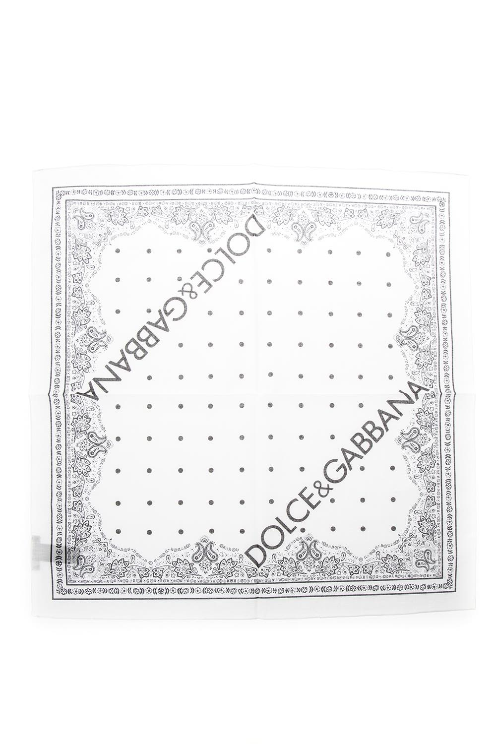 Dolce & Gabbana Cotton Canvas Bandana